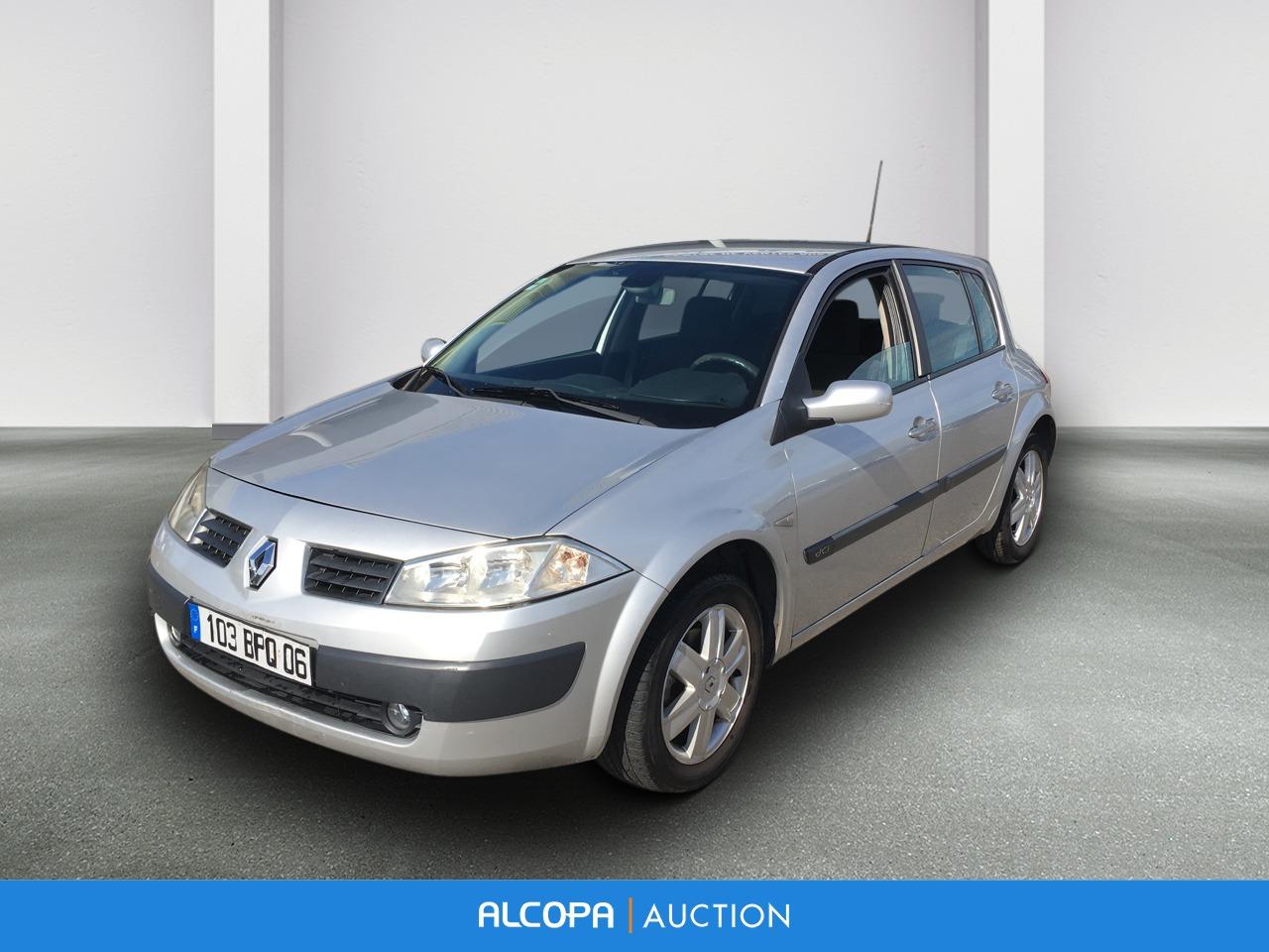 Renault Megane Ii Berline Megane Ii 1 5 Dci 105 Luxe