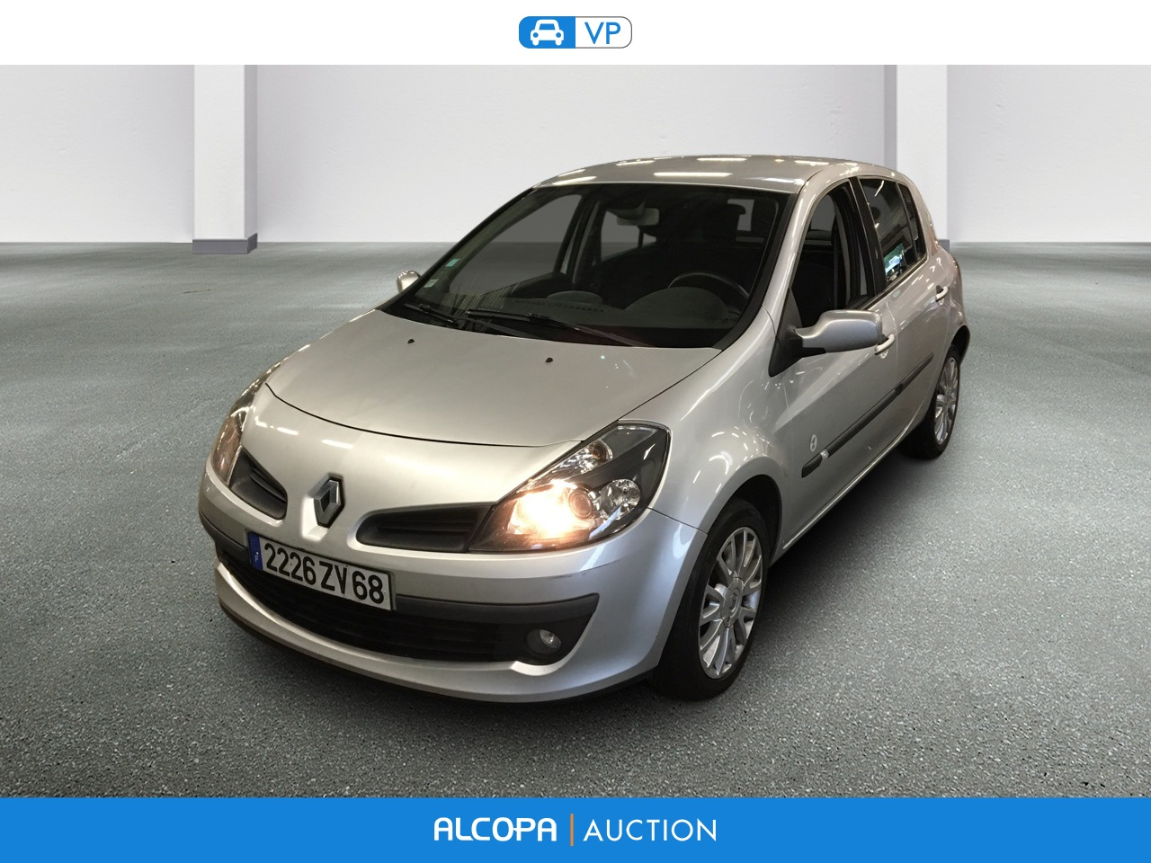 renault clio iii clio 1 5 dci 85 eco2 xv de france alcopa auction. Black Bedroom Furniture Sets. Home Design Ideas