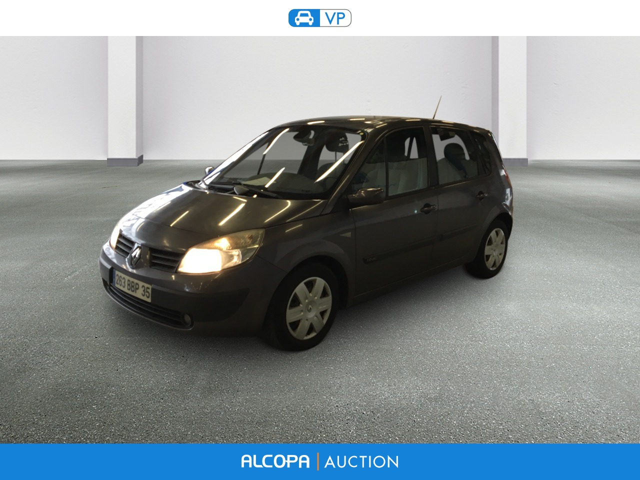 renault scenic ii scenic 1 9 dci 120 confort expression alcopa auction. Black Bedroom Furniture Sets. Home Design Ideas