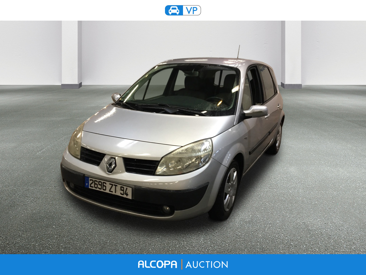 renault scenic scenic 1 9 dci120 confort authentique alcopa auction. Black Bedroom Furniture Sets. Home Design Ideas