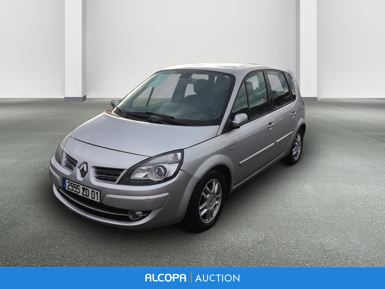 renault scenic ii scenic 1 5 dci 105 eco2 exception alcopa auction. Black Bedroom Furniture Sets. Home Design Ideas
