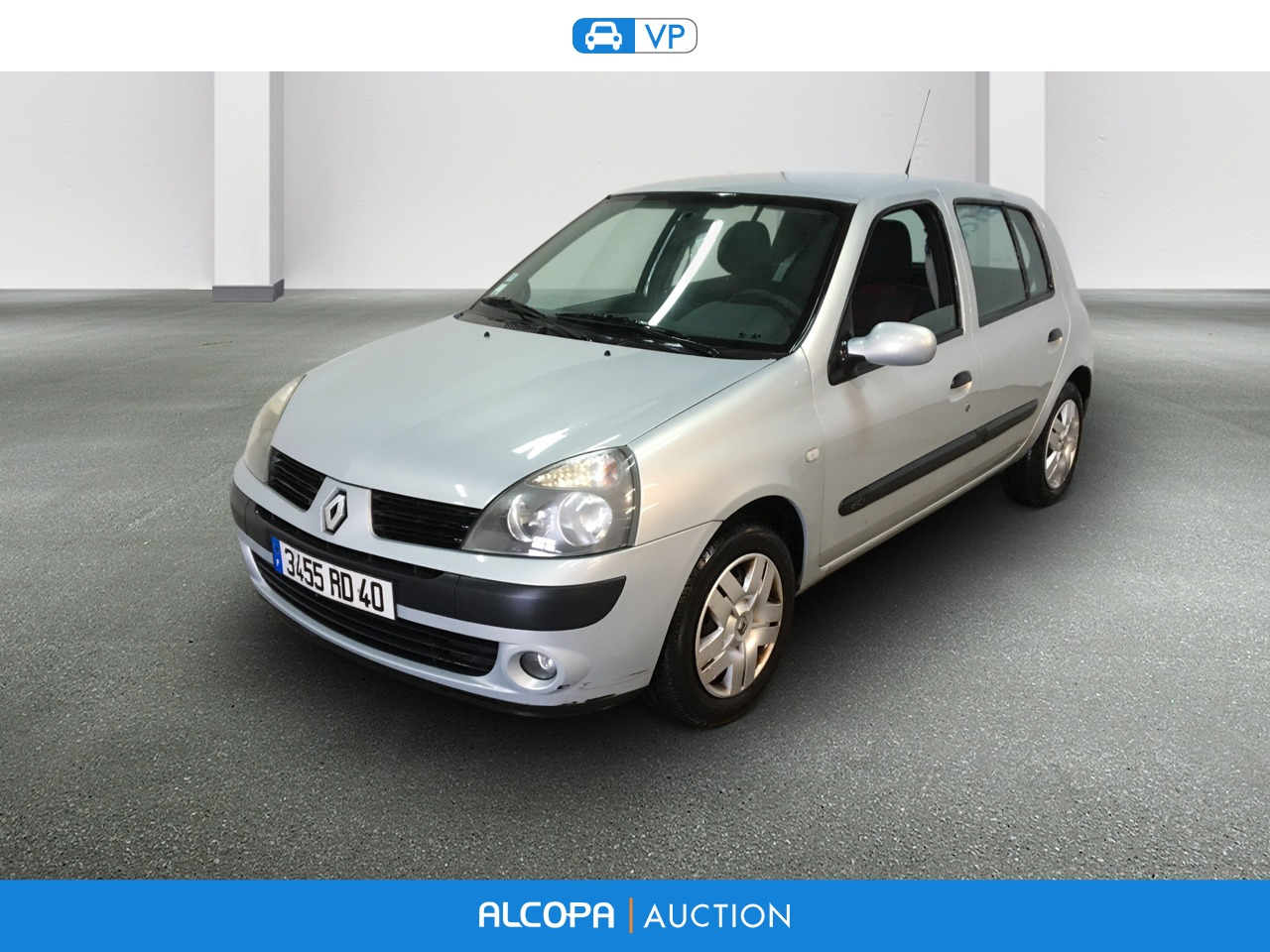 renault clio 12 2003 12 2004 clio 1 5 dci 65 extr me alcopa auction. Black Bedroom Furniture Sets. Home Design Ideas
