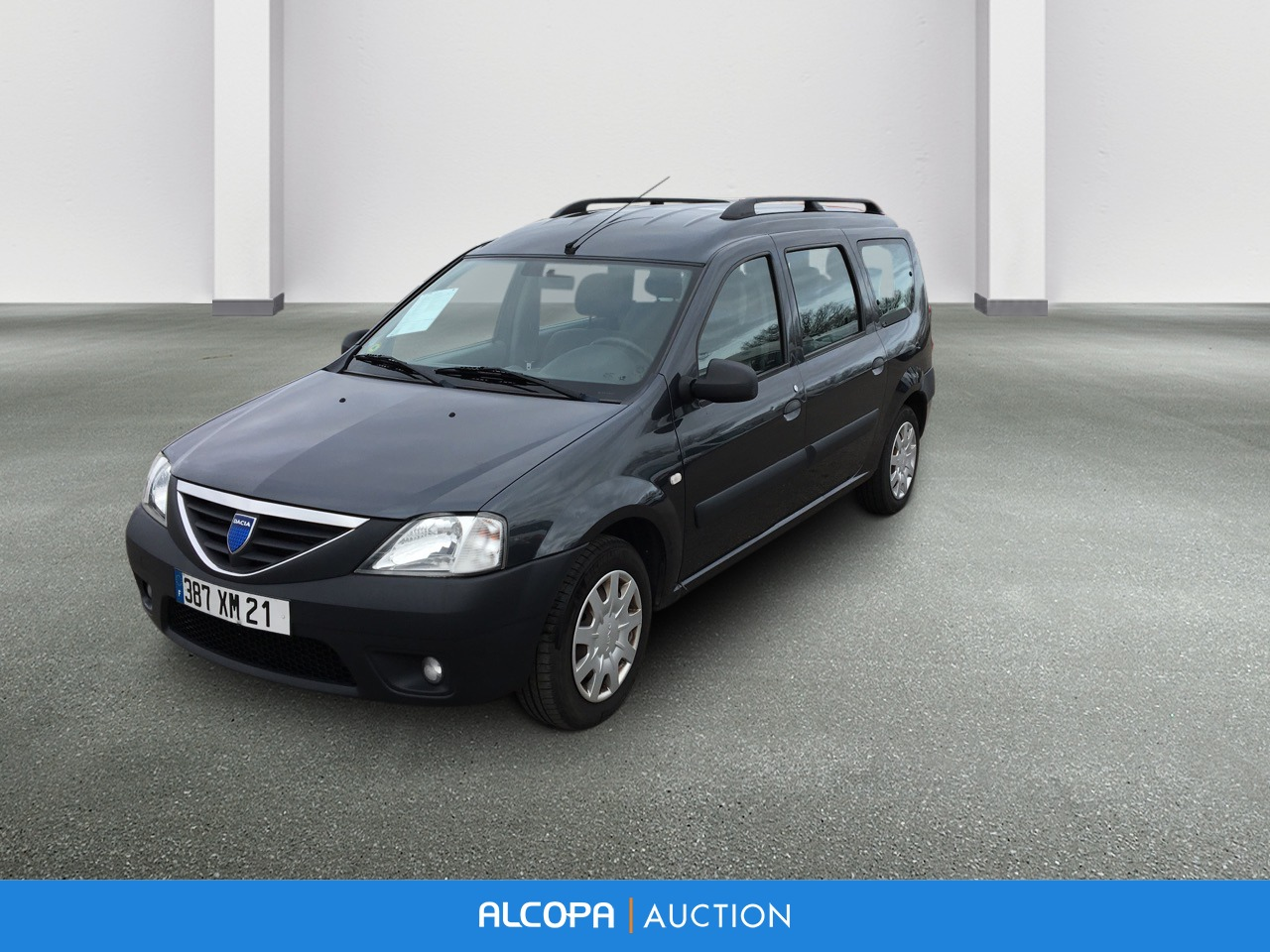 dacia logan mcv logan mcv 1 6 16v 7 places laur ate alcopa auction. Black Bedroom Furniture Sets. Home Design Ideas