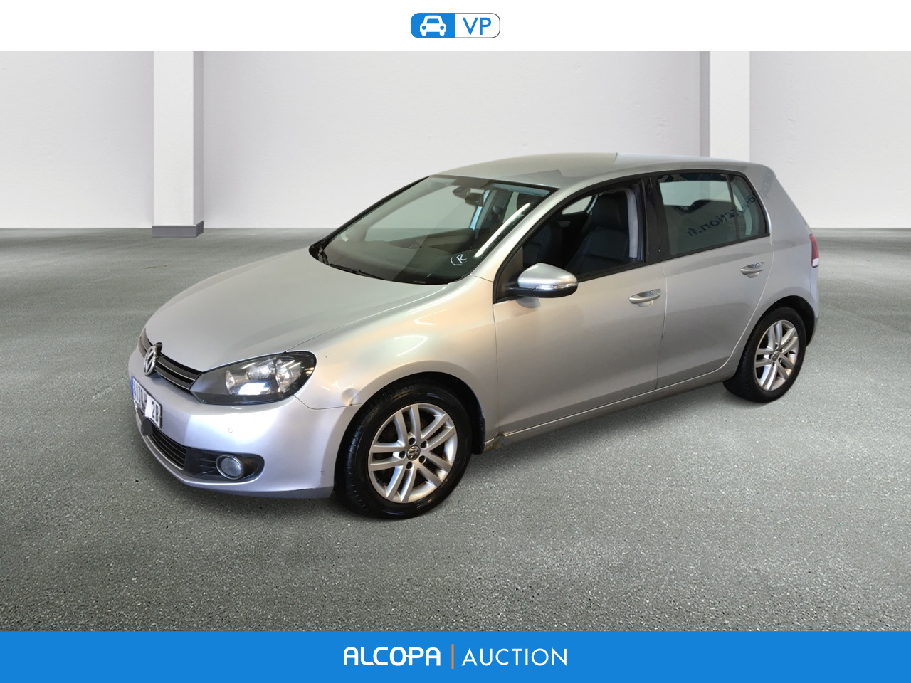 volkswagen golf golf 1 4 tsi 122ch carat dsg7 5p tours alcopa auction. Black Bedroom Furniture Sets. Home Design Ideas