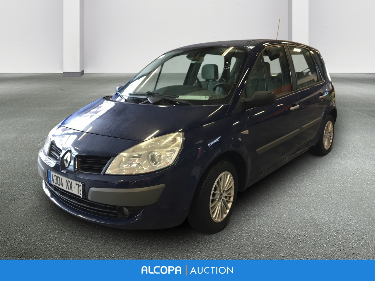 renault scenic ii scenic 1 5 dci 105 eco2 expression alcopa auction. Black Bedroom Furniture Sets. Home Design Ideas