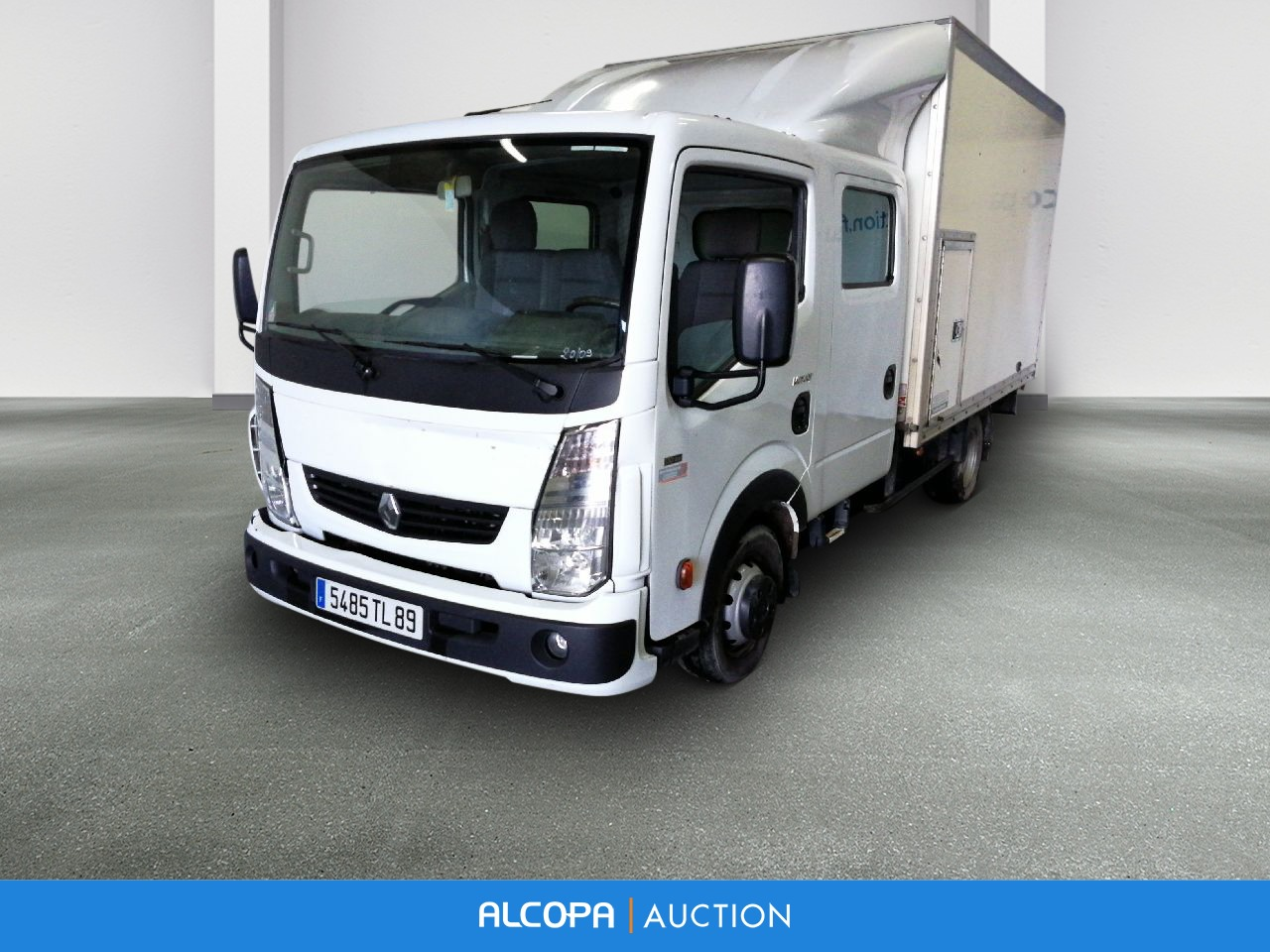 renault trucks maxity 130dxi 3 5t cabine 6 places caisse. Black Bedroom Furniture Sets. Home Design Ideas