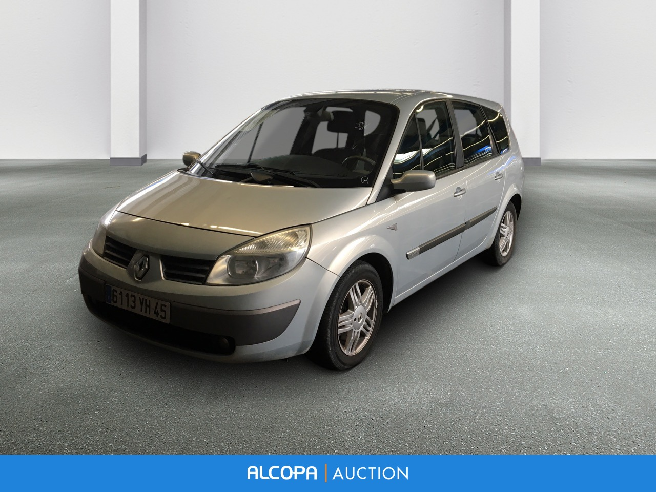 renault grand scenic ii grand scenic 1 9 dci 120 pack expression alcopa auction. Black Bedroom Furniture Sets. Home Design Ideas