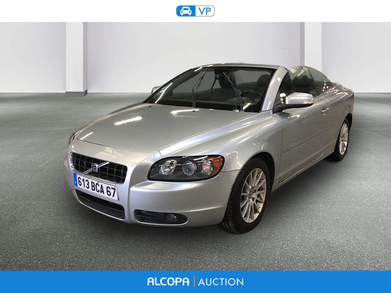 volvo c70 cabriolet c70 cabriolet 2 0d 136 momentum alcopa auction. Black Bedroom Furniture Sets. Home Design Ideas
