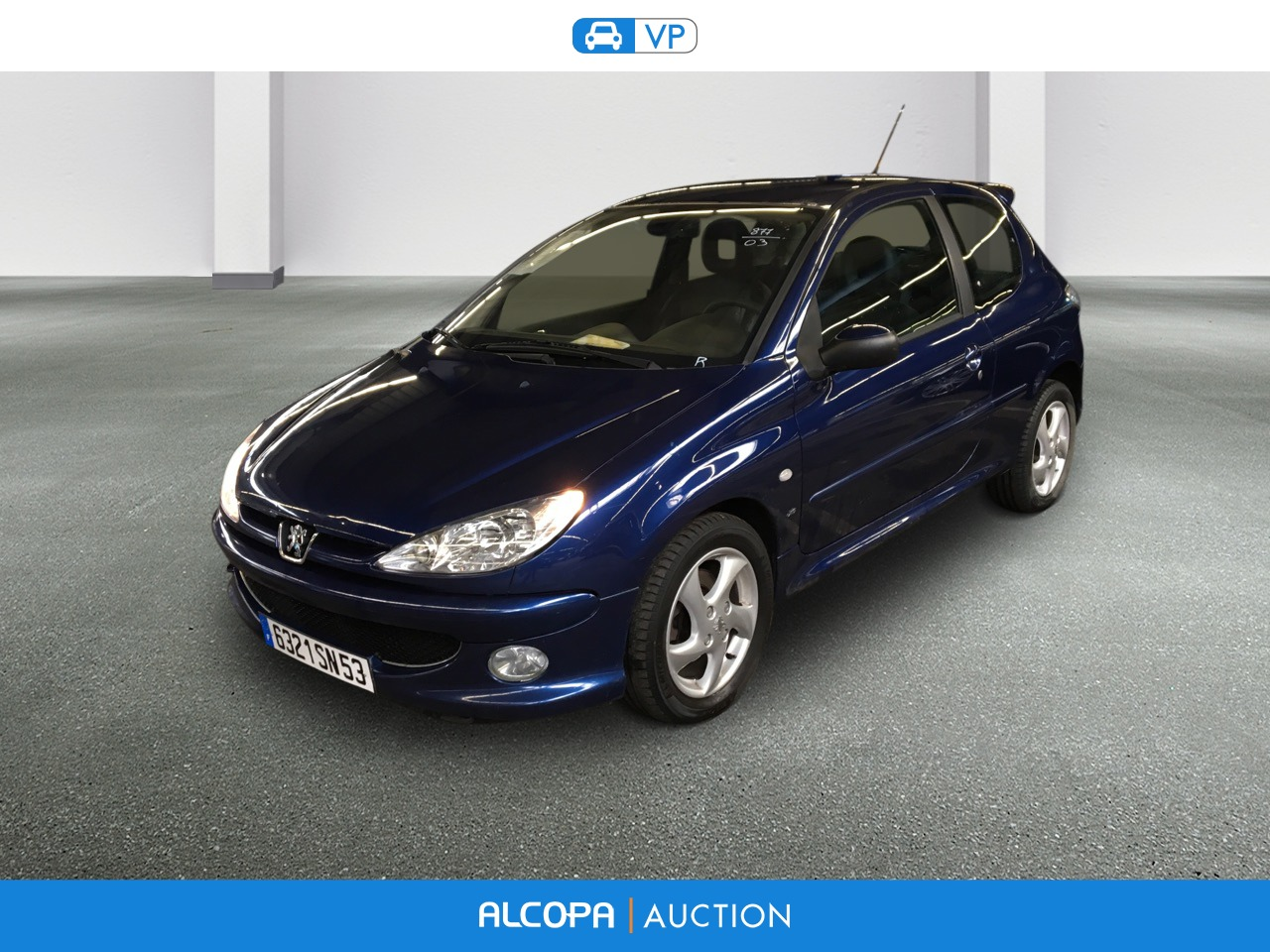 peugeot 206 206 2 0 hdi xs pack alcopa auction. Black Bedroom Furniture Sets. Home Design Ideas