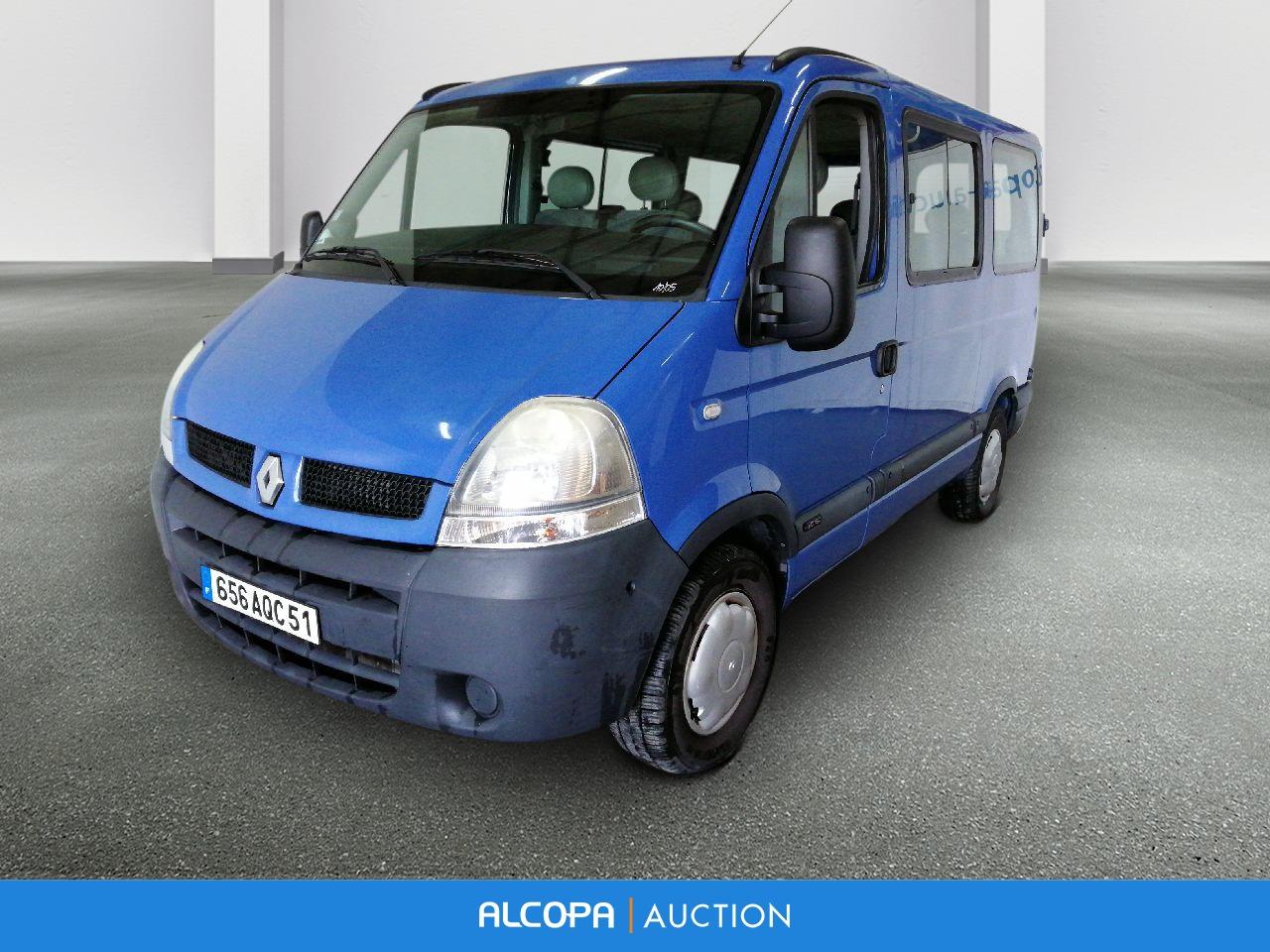 renault master minibus master minibus l1h1 2 5 dci 120 3 2t alcopa auction. Black Bedroom Furniture Sets. Home Design Ideas