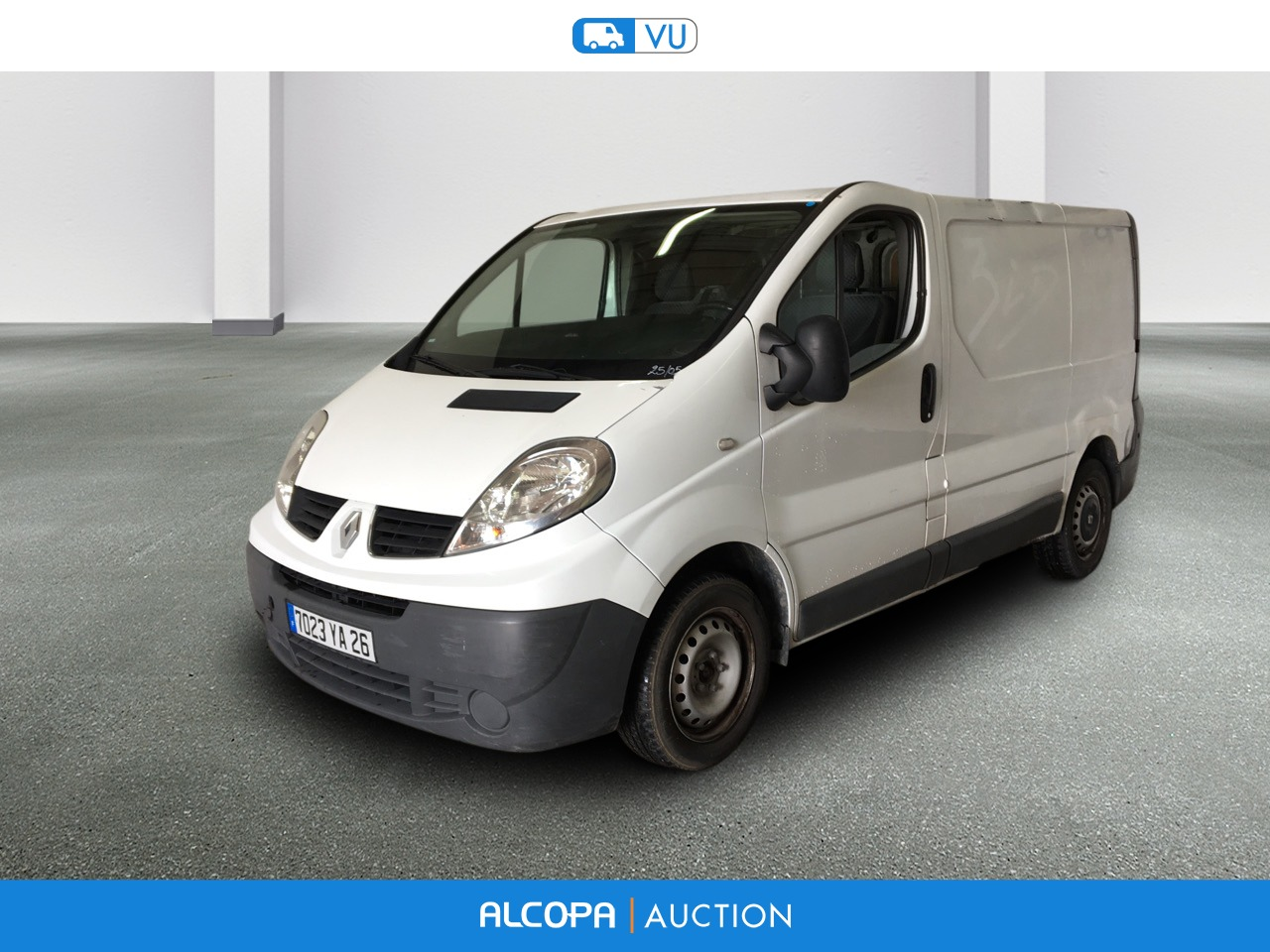 renault trafic fourgon trafic fgn 2 0 dci 90 l1h1 1000 kg confort alcopa auction. Black Bedroom Furniture Sets. Home Design Ideas