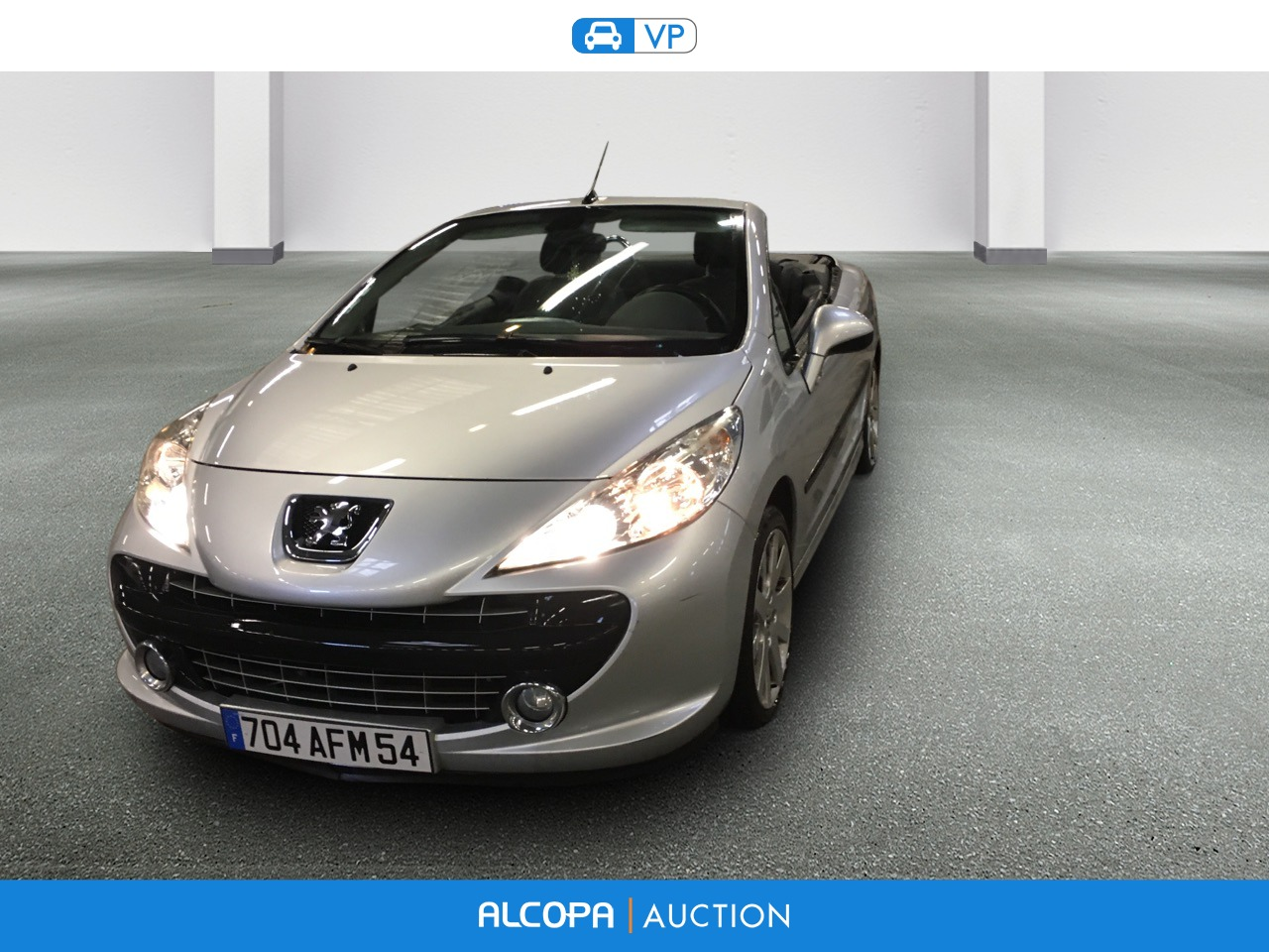 peugeot 207 cc 1 6 vti 16v 120ch sport pack a alcopa auction. Black Bedroom Furniture Sets. Home Design Ideas