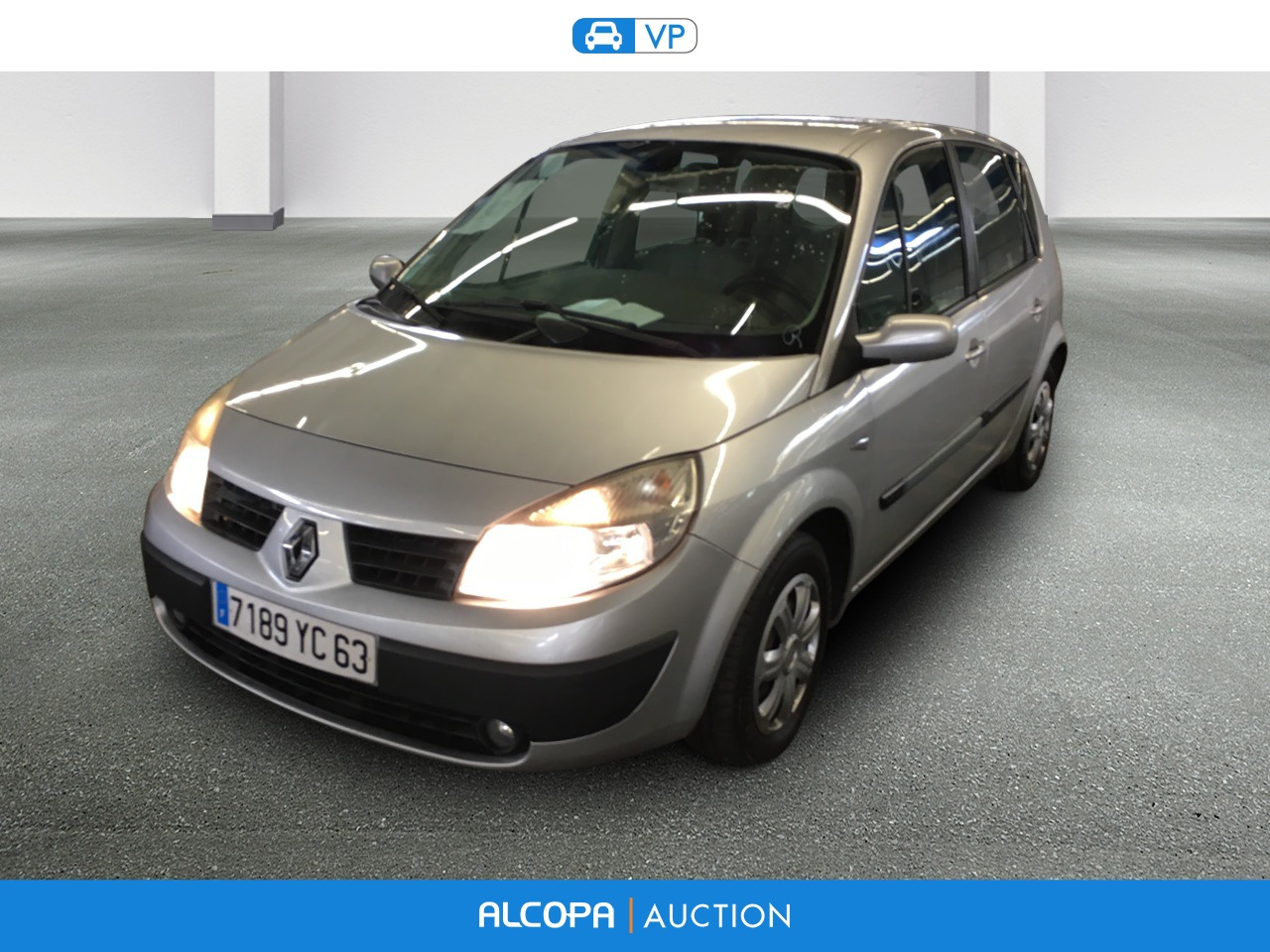 renault scenic ii scenic 1 6 16v euro 4 confort expression alcopa auction. Black Bedroom Furniture Sets. Home Design Ideas