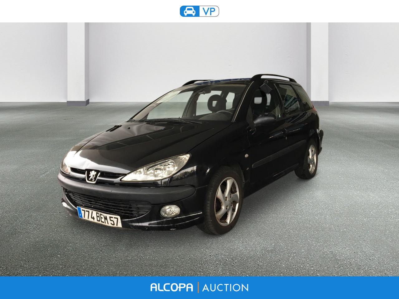 peugeot 206 sw 2 0 hdi xs premium alcopa auction. Black Bedroom Furniture Sets. Home Design Ideas