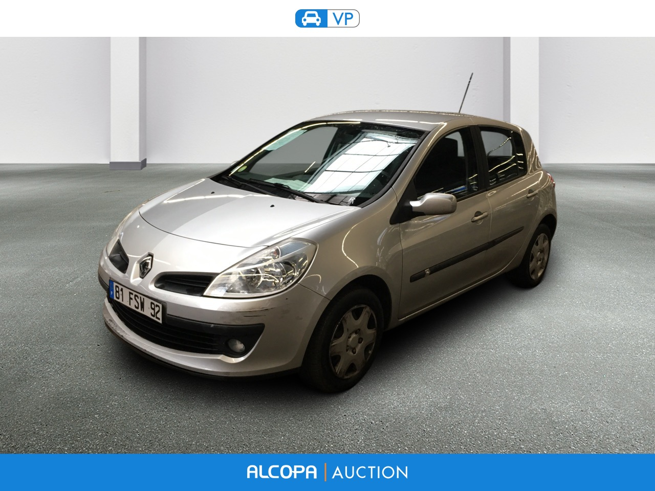 renault clio iii clio tce 100 eco2 dynamique alcopa auction. Black Bedroom Furniture Sets. Home Design Ideas