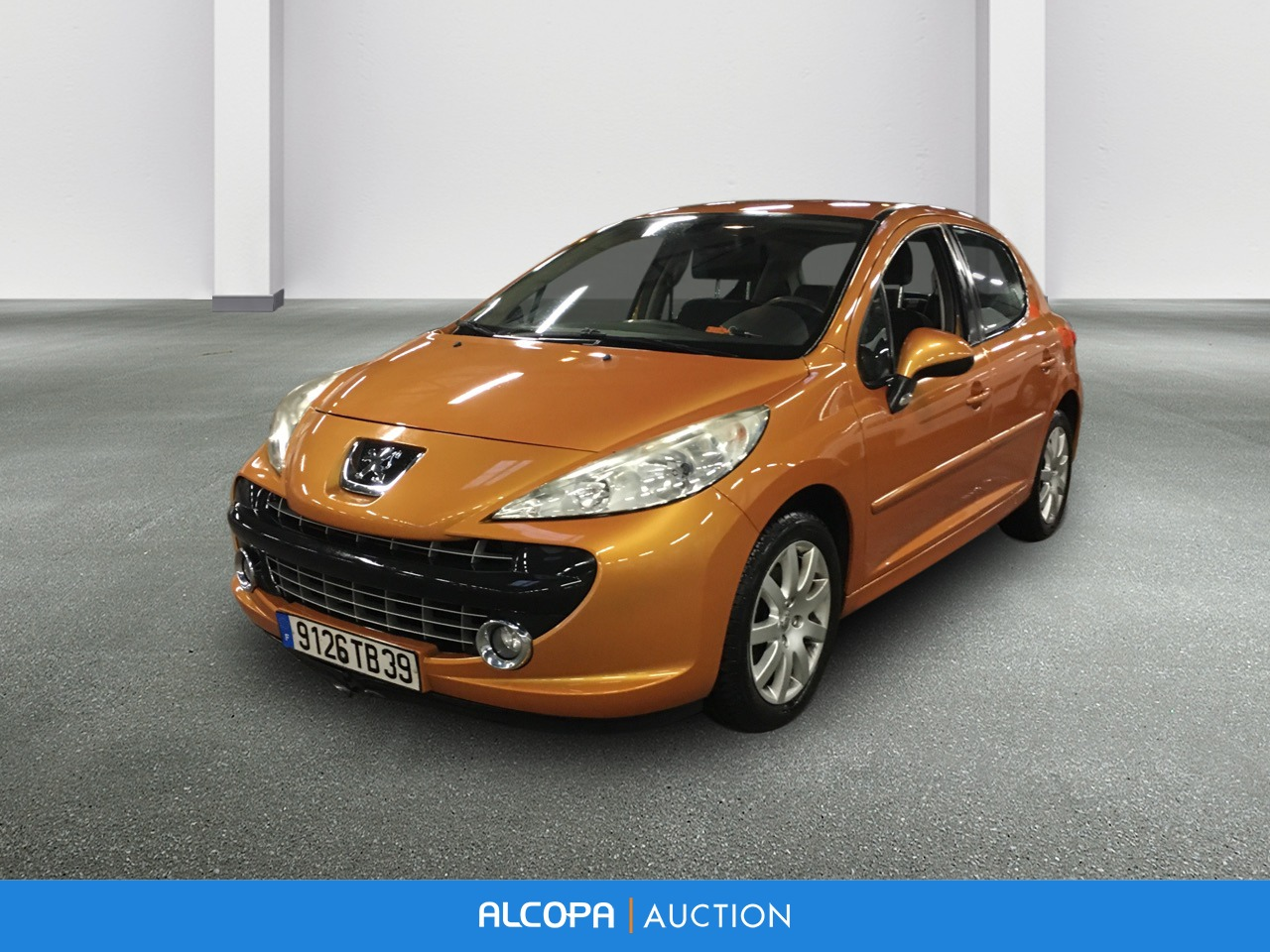 peugeot 207 207 1 6 hdi 16v 90ch executive alcopa auction. Black Bedroom Furniture Sets. Home Design Ideas