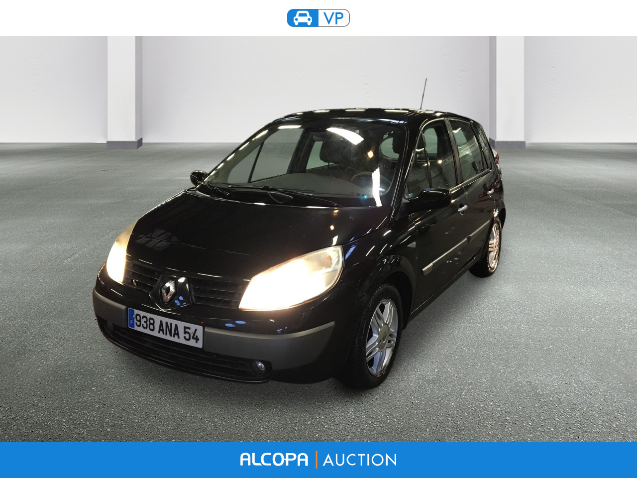 renault scenic scenic 1 9 dci120 luxe privilege alcopa auction. Black Bedroom Furniture Sets. Home Design Ideas