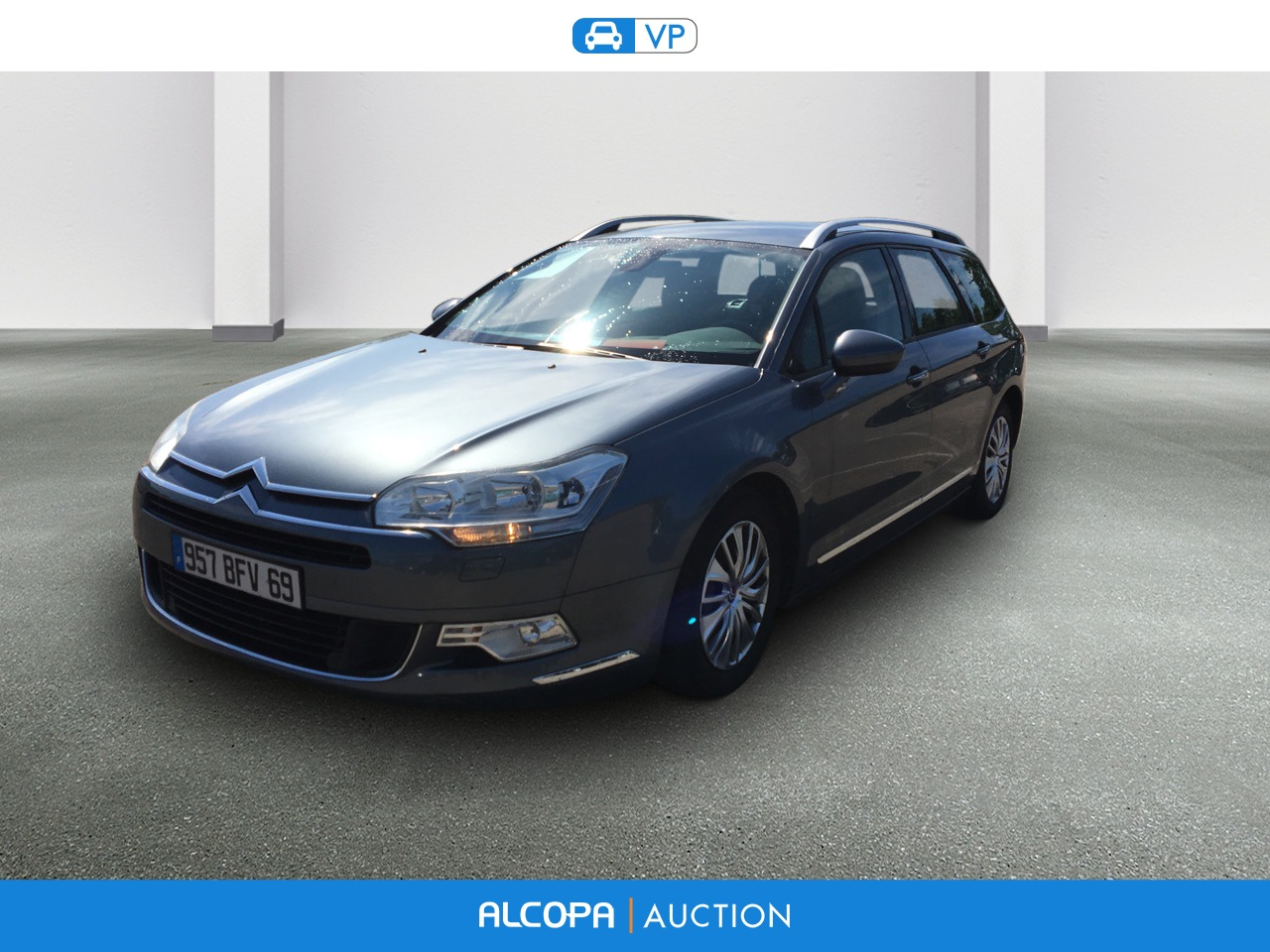 citroen c5 tourer c5 tourer hdi 140 confort bv6 alcopa auction. Black Bedroom Furniture Sets. Home Design Ideas