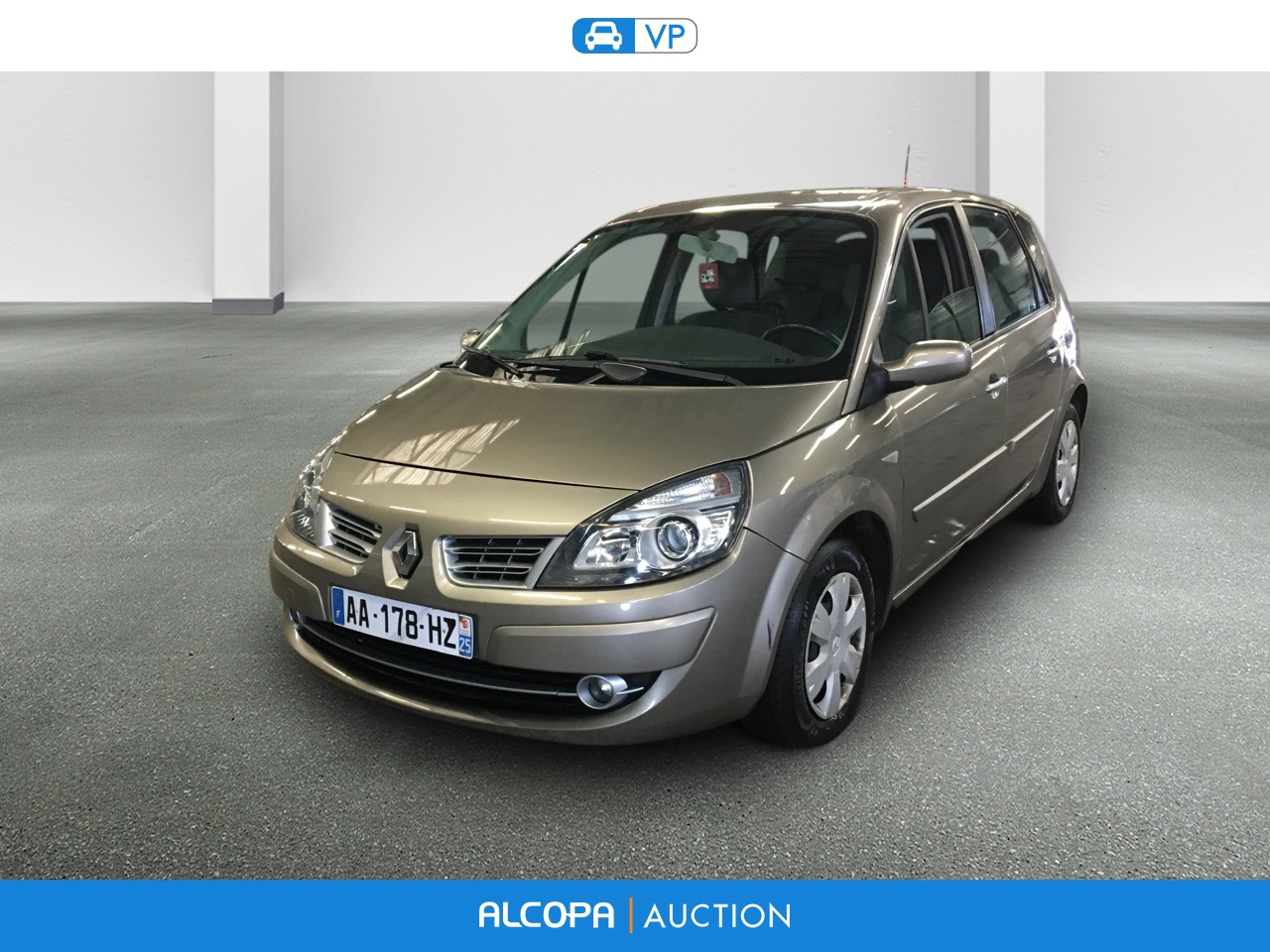 renault scenic ii scenic 1 5 dci 105 eco2 emotion alcopa auction. Black Bedroom Furniture Sets. Home Design Ideas
