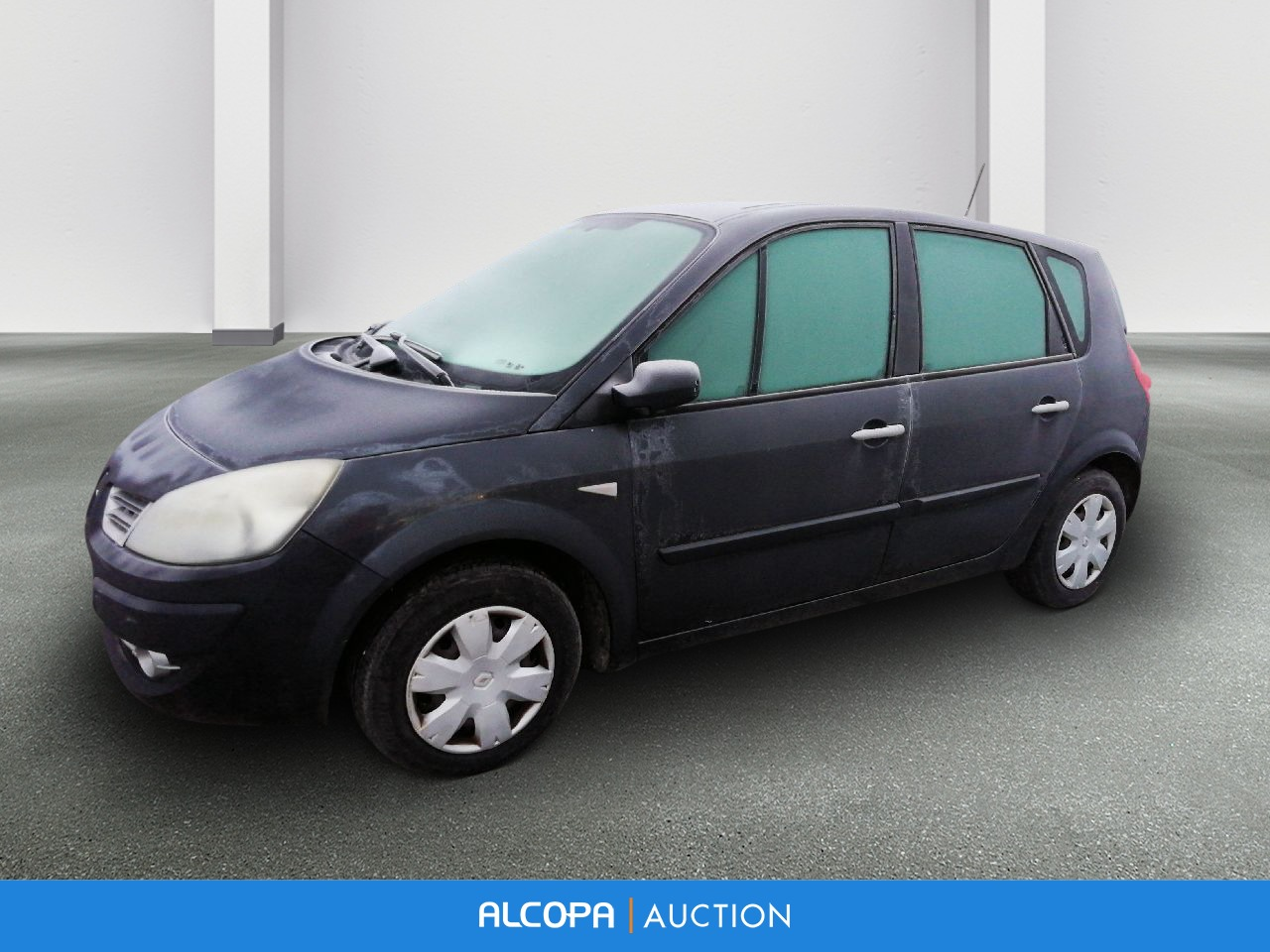 renault scenic ii scenic 1 5 dci 105 eco2 emotion tours alcopa auction. Black Bedroom Furniture Sets. Home Design Ideas