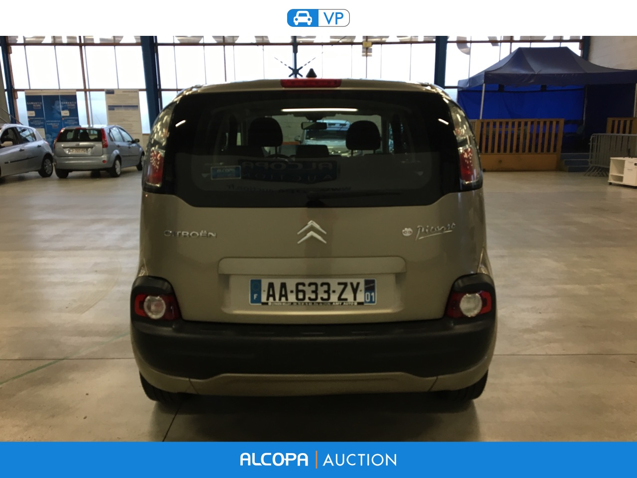citroen c3 c3 picasso 1 6 hdi110 fap confort rennes alcopa auction. Black Bedroom Furniture Sets. Home Design Ideas