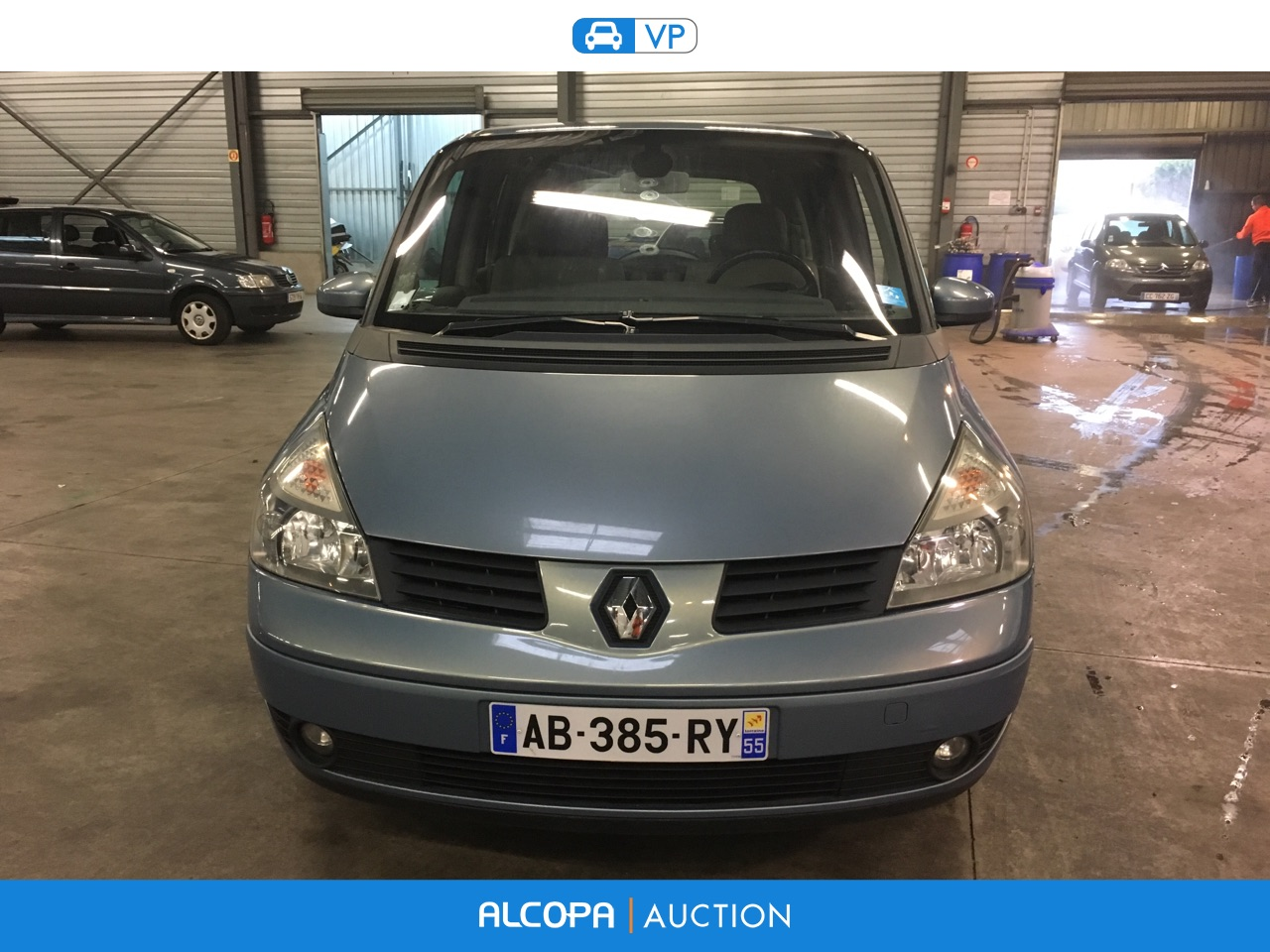 renault espace espace 2 2 dci150 expression nancy alcopa auction. Black Bedroom Furniture Sets. Home Design Ideas
