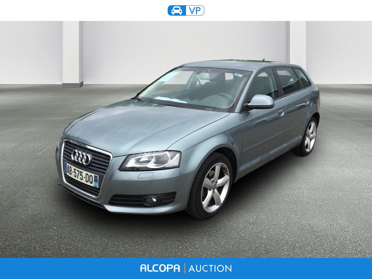 audi a3 sportback a3 sportback 2 0 tdi 140 dpf ambition luxe alcopa auction. Black Bedroom Furniture Sets. Home Design Ideas