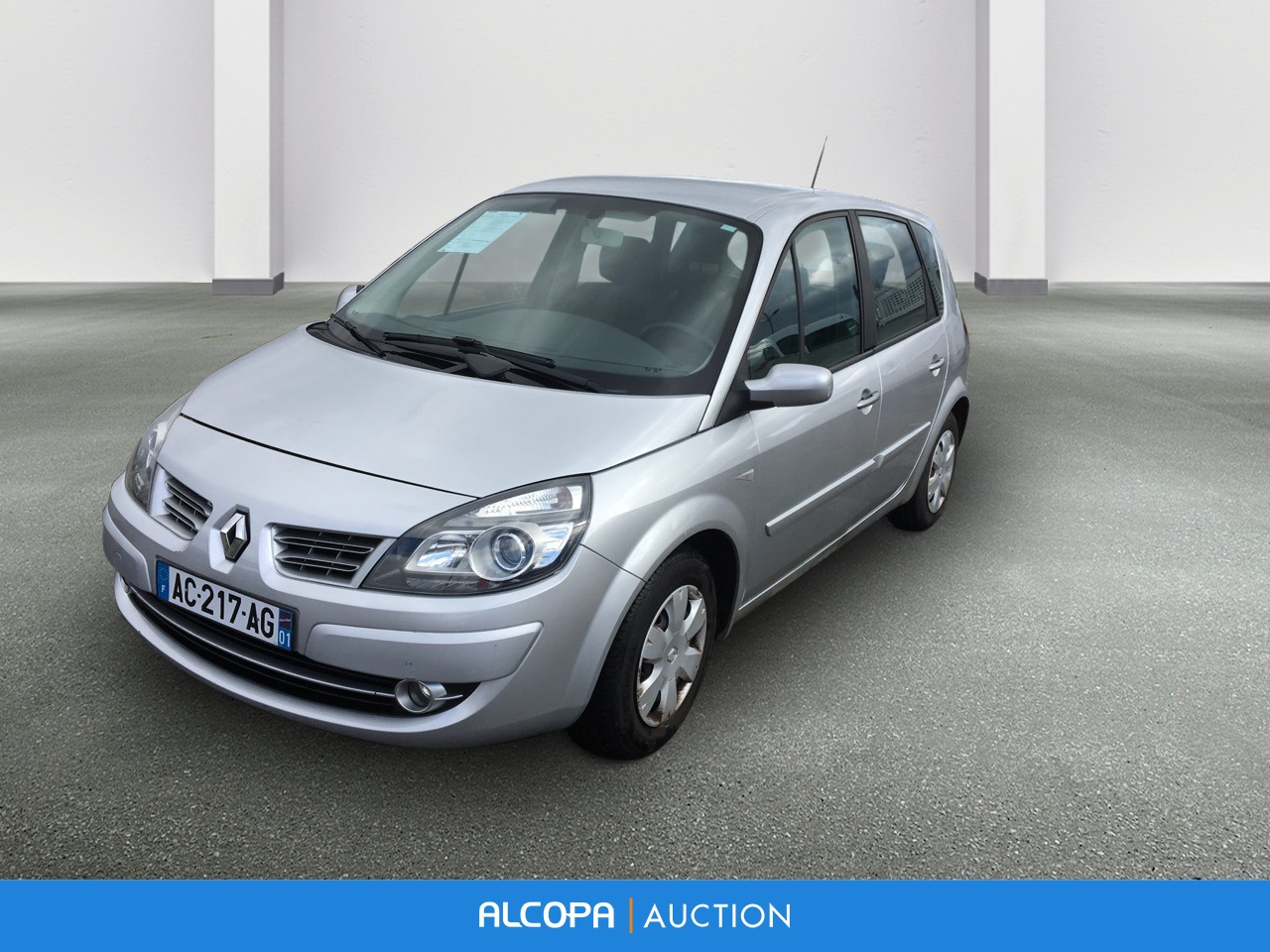 renault scenic ii scenic 1 5 dci 105 eco2 emotion lyon alcopa auction. Black Bedroom Furniture Sets. Home Design Ideas