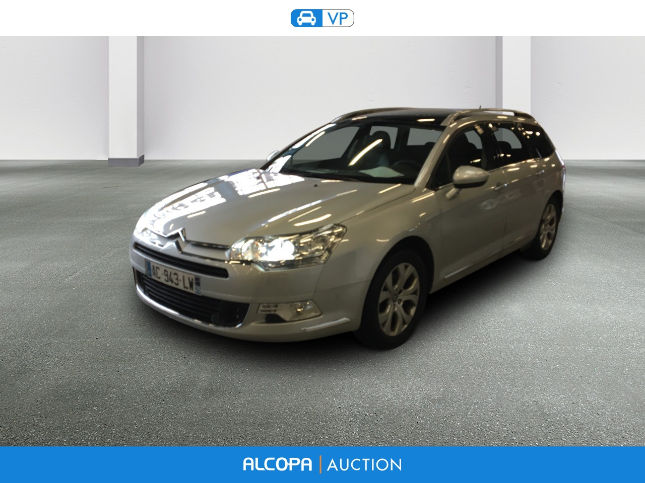 citroen c5 tourer c5 tourer hdi 140 fap exclusive alcopa auction. Black Bedroom Furniture Sets. Home Design Ideas