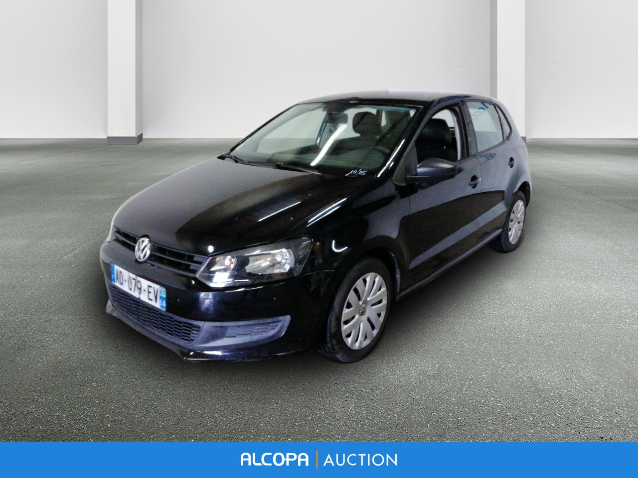 volkswagen polo polo 1 6 tdi 75 cr fap trendline alcopa auction. Black Bedroom Furniture Sets. Home Design Ideas