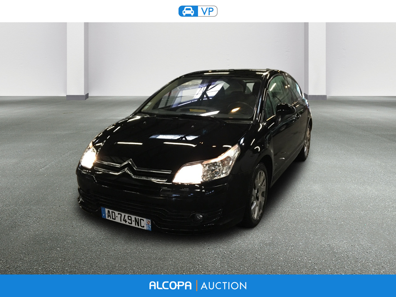 citroen c4 c4 coupe 1 6 hdi110 vts alcopa auction. Black Bedroom Furniture Sets. Home Design Ideas