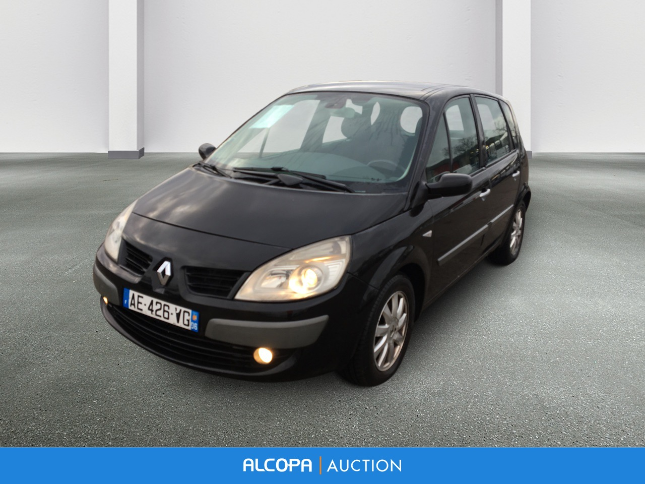 renault scenic ii scenic 2 0 dci 150 dynamique lyon alcopa auction. Black Bedroom Furniture Sets. Home Design Ideas