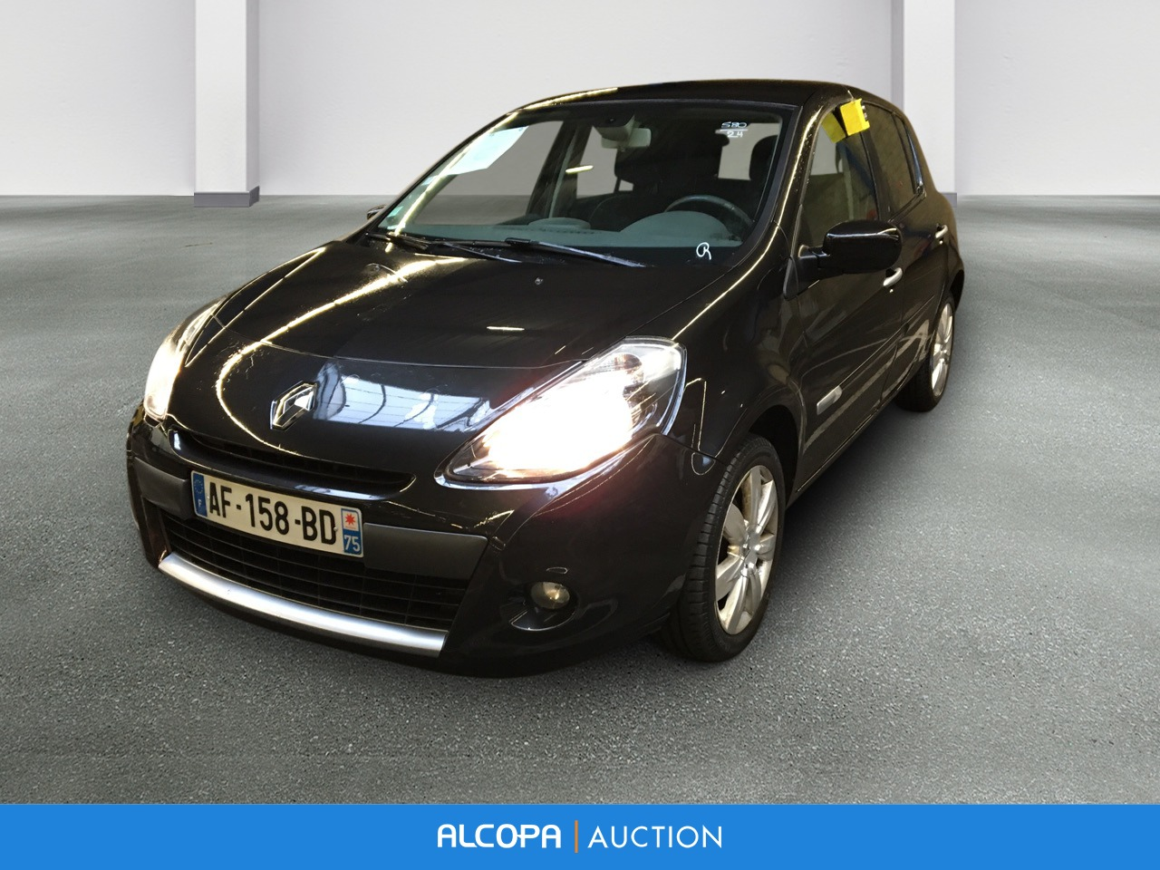 renault clio iii clio iii dci 85 eco2 exception alcopa auction. Black Bedroom Furniture Sets. Home Design Ideas