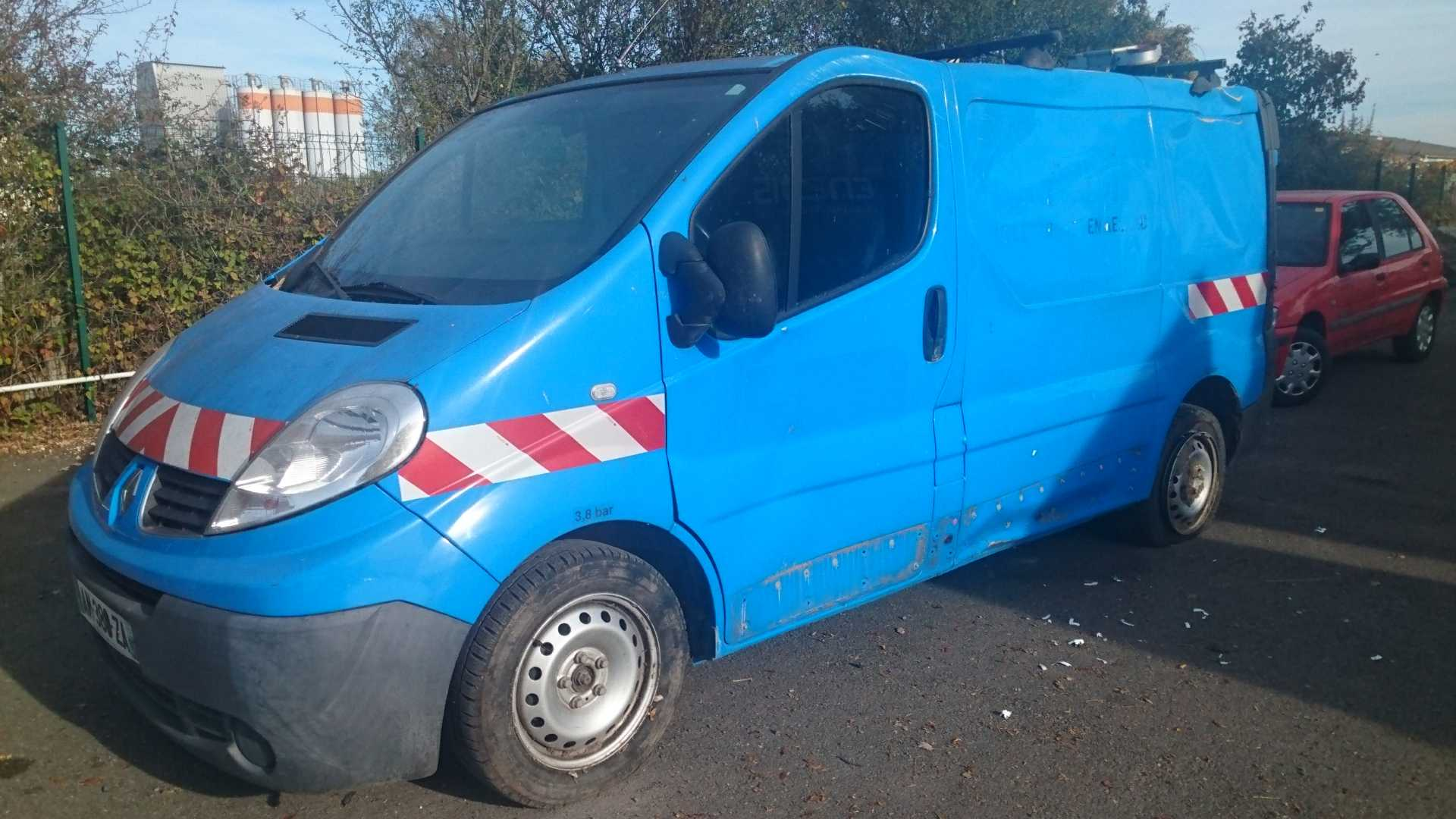 Renault Trafic Fourgon Trafic Fgn 2 0 Dci 90 L1h1 1000 Kg Confort