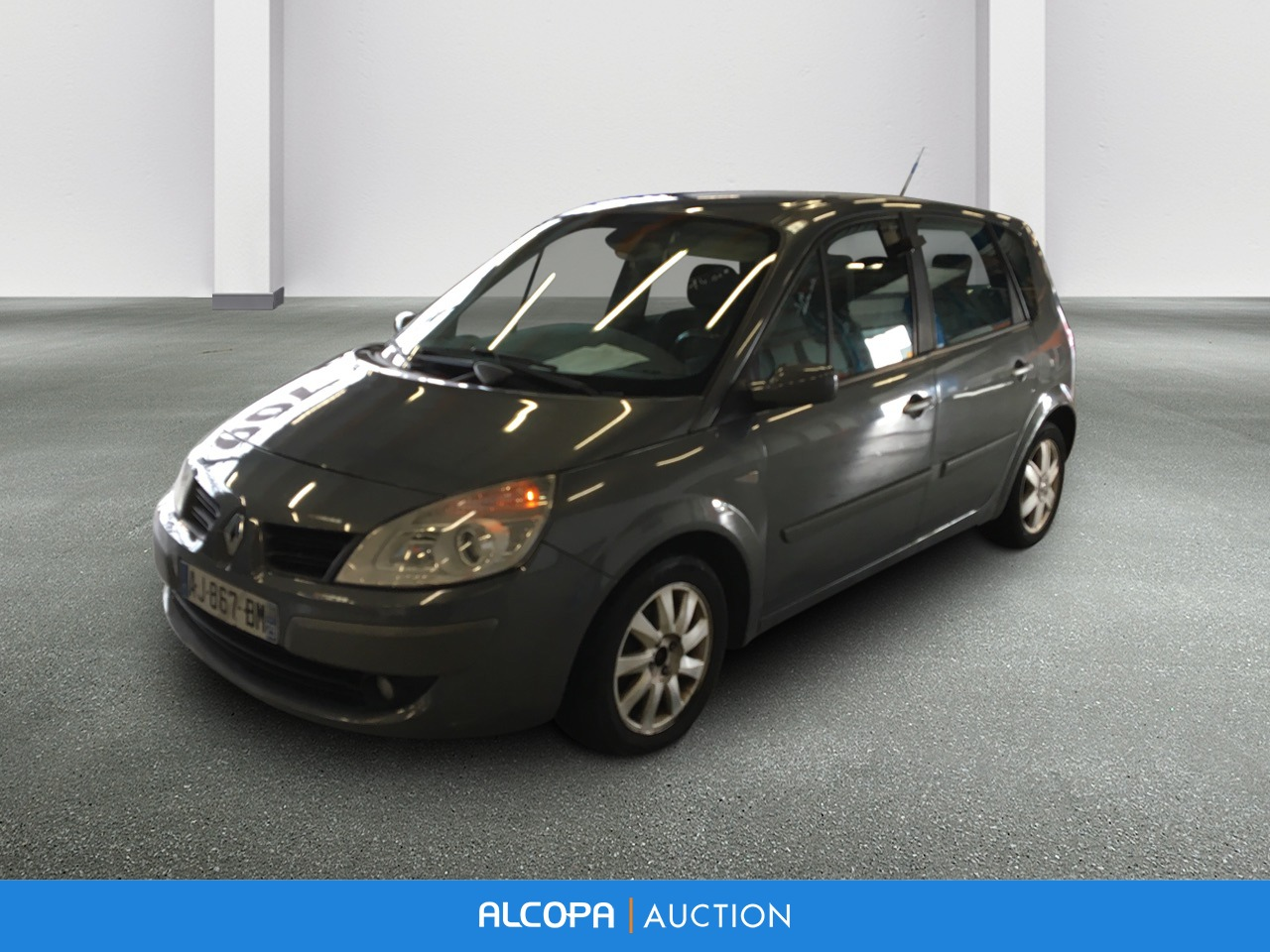 renault scenic ii scenic 1 5 dci 105 fap eco2 exception rennes alcopa auction. Black Bedroom Furniture Sets. Home Design Ideas