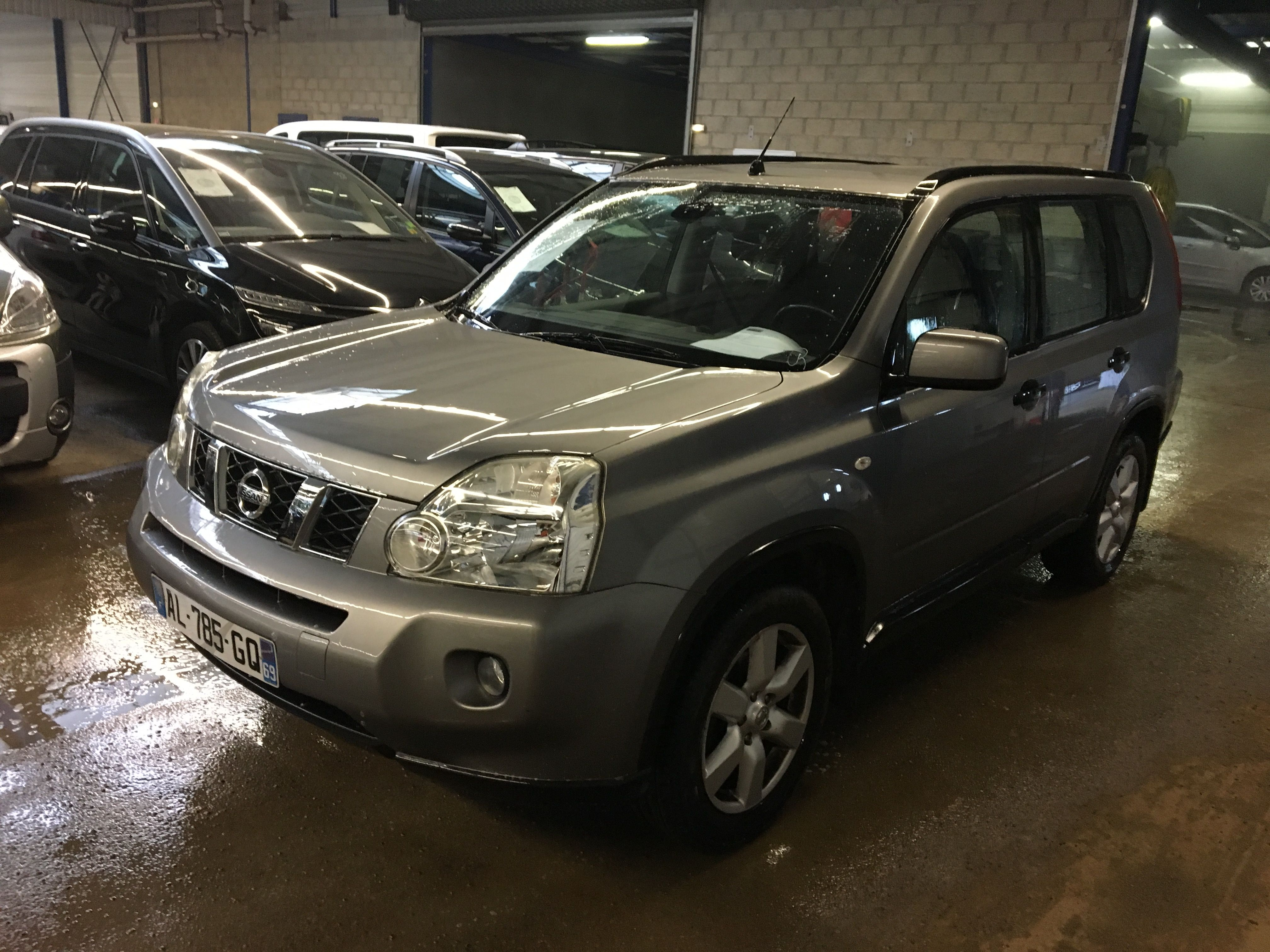 nissan x trail 07 2007 10 2010 x trail 2 0 dci 150 4x4 se a alcopa auction. Black Bedroom Furniture Sets. Home Design Ideas