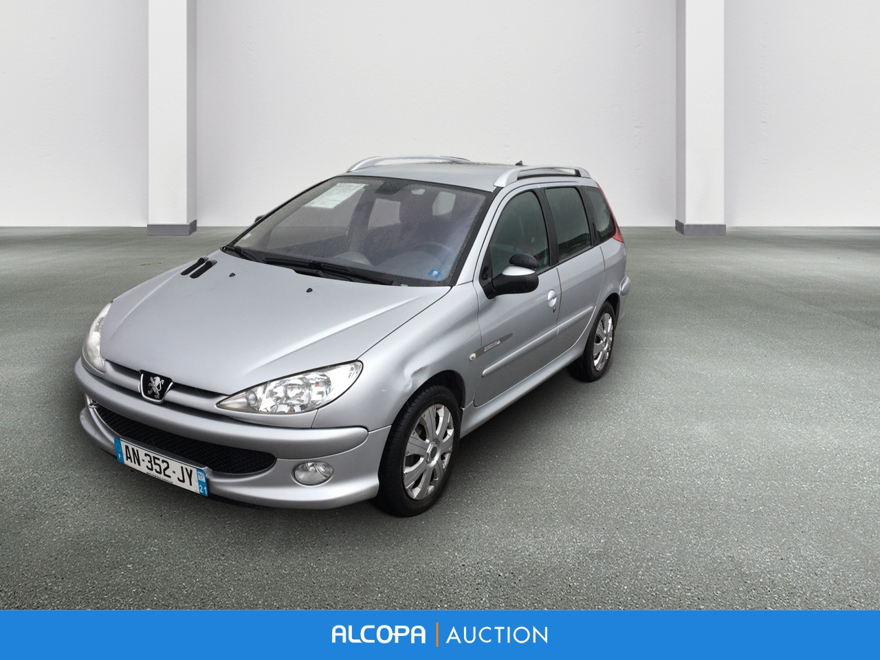 peugeot 206 sw 206 sw 1 6 hdi style alcopa auction. Black Bedroom Furniture Sets. Home Design Ideas