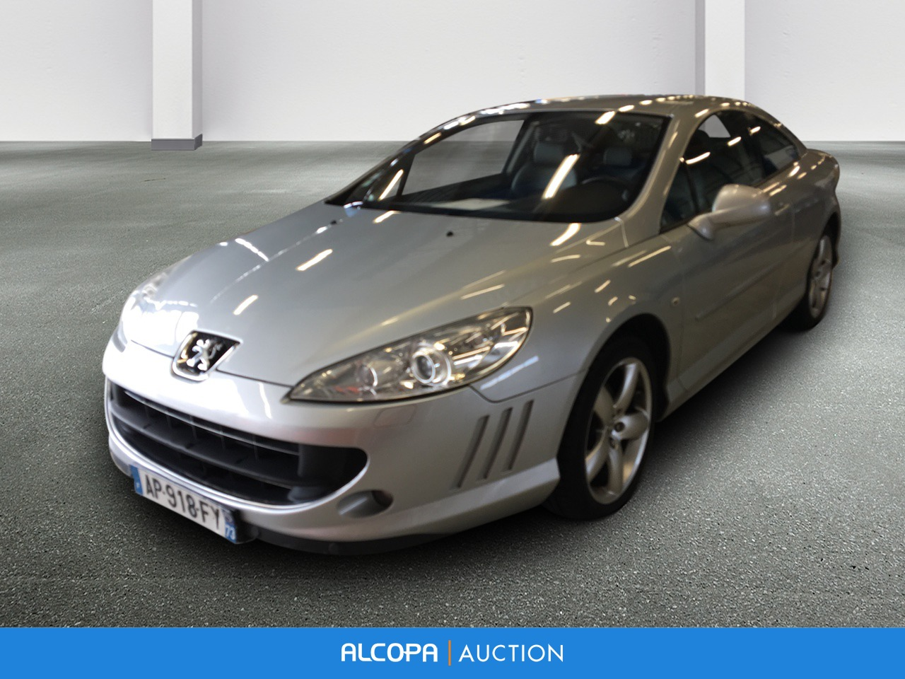 peugeot 407 coupe 407 coup 2 0 hdi 163ch fap navteq rennes alcopa auction. Black Bedroom Furniture Sets. Home Design Ideas