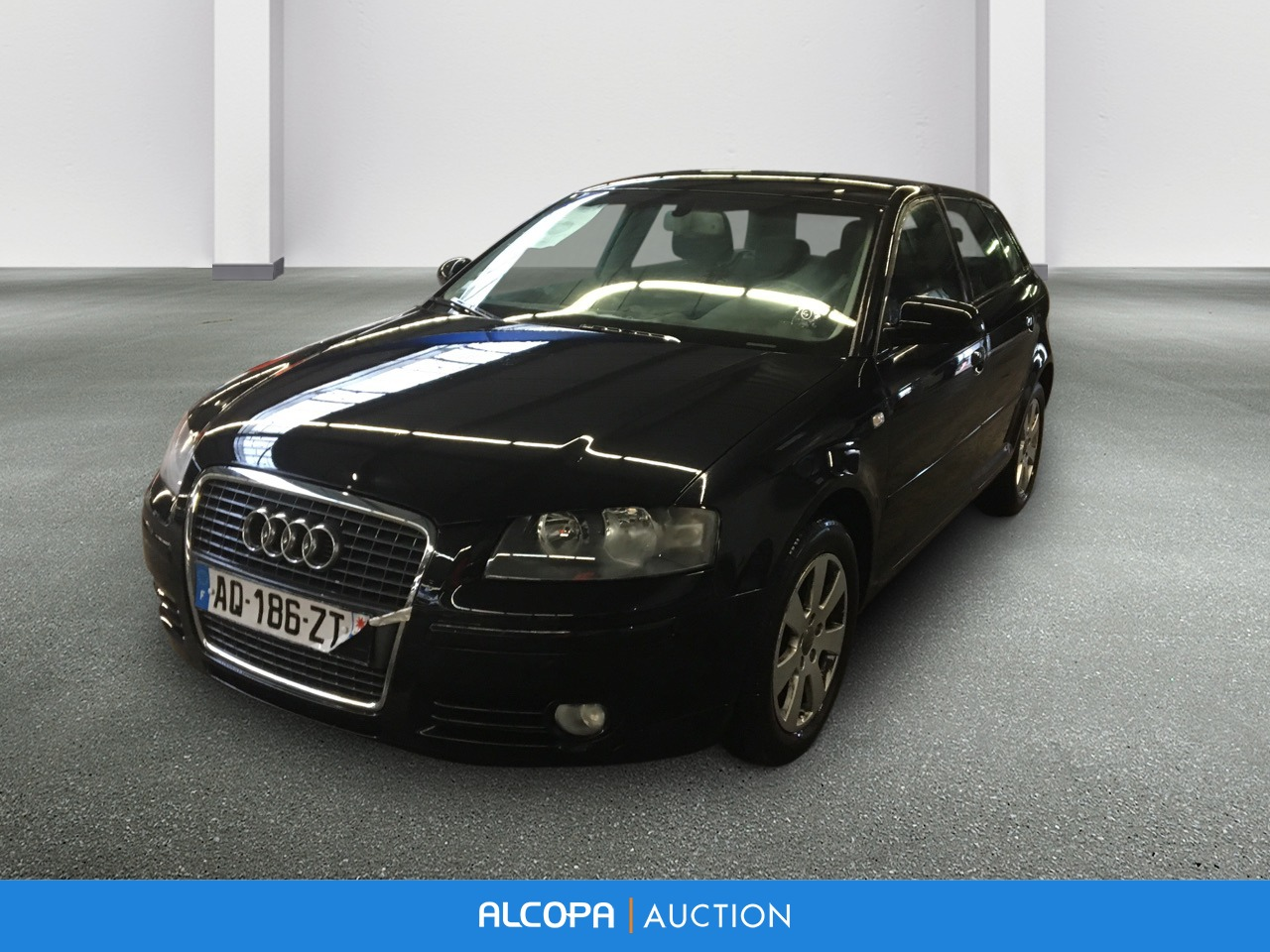 audi a3 sportback 04 2008 09 2012 a3 sportback 1 9 tdi 105 ambition alcopa auction. Black Bedroom Furniture Sets. Home Design Ideas