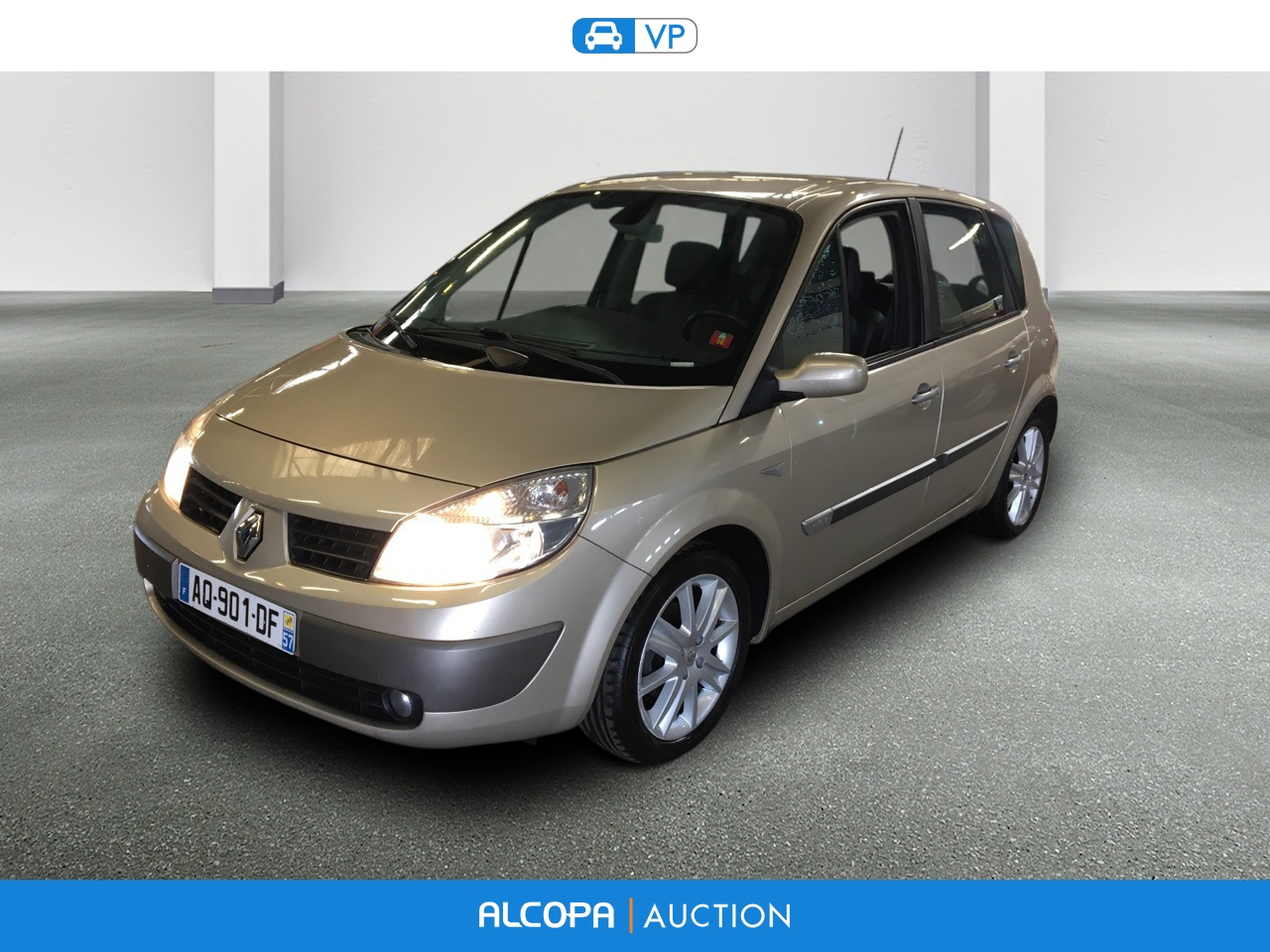 renault scenic ii scenic 1 5 dci 105 euro 4 exception alcopa auction. Black Bedroom Furniture Sets. Home Design Ideas