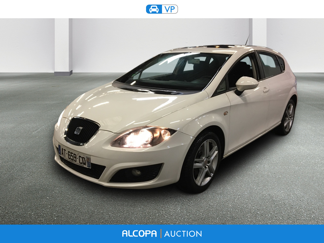 seat leon 02 2009 09 2012 leon 1 6 tdi 105 fap cr alcopa auction. Black Bedroom Furniture Sets. Home Design Ideas