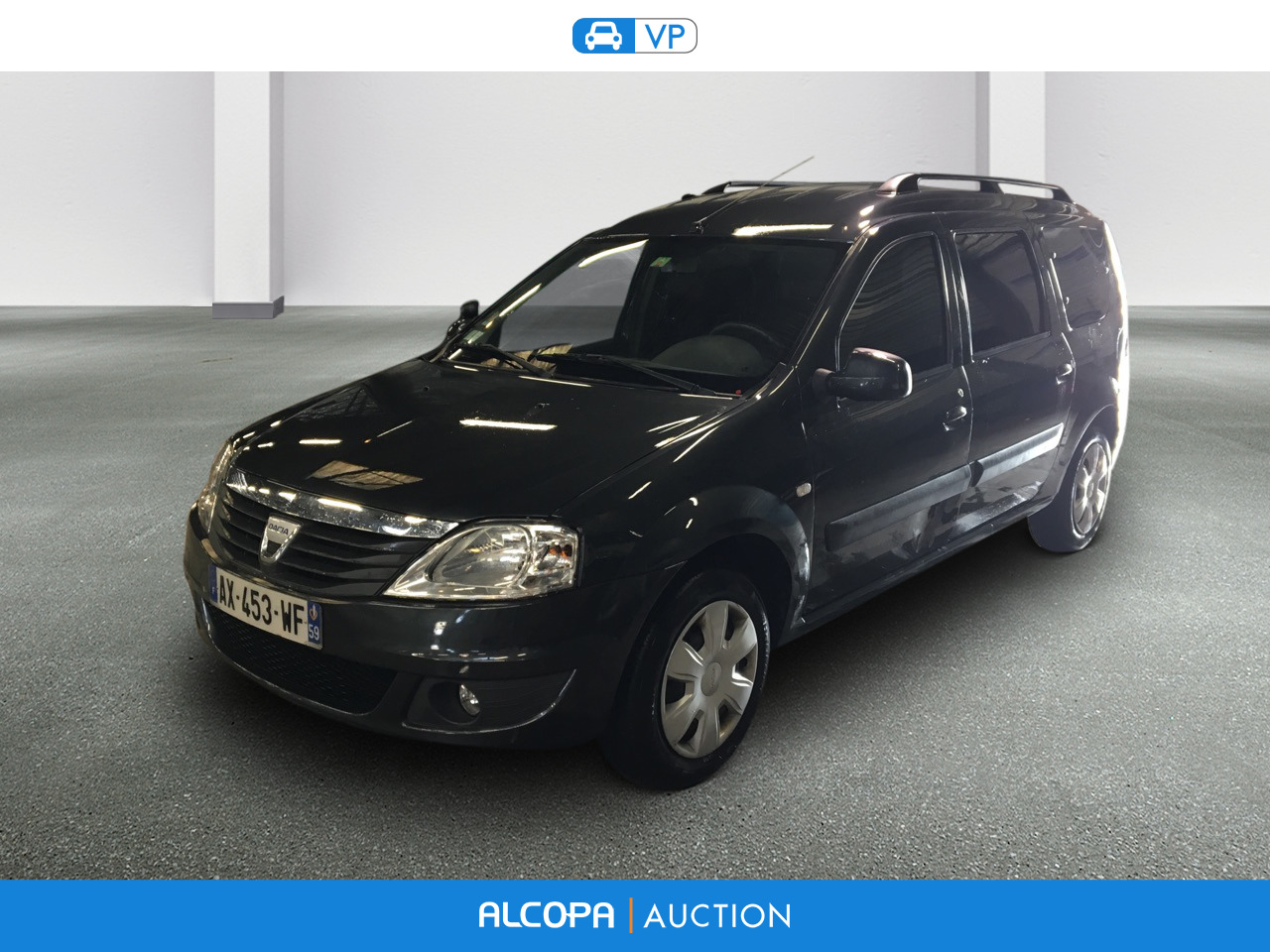 dacia logan mcv 10 2008 11 2012 logan mcv dci 85 eco2 blackline alcopa auction. Black Bedroom Furniture Sets. Home Design Ideas