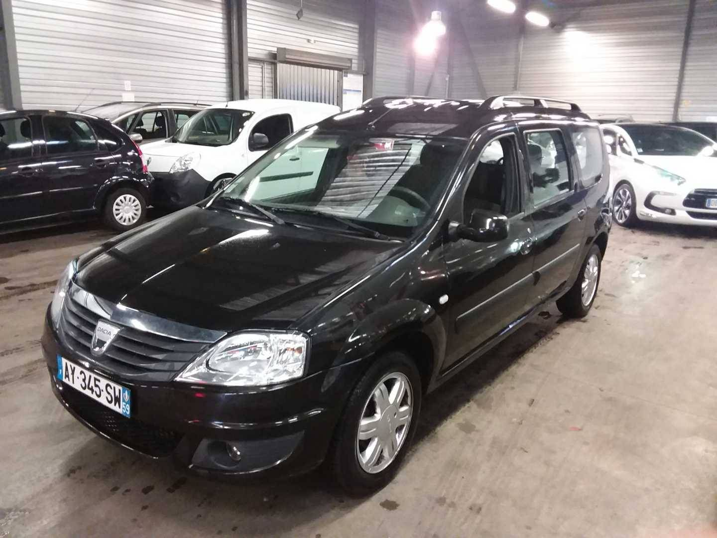 dacia logan mcv 10 2008 11 2012 logan mcv dci 85 eco2 5 places blackline alcopa auction. Black Bedroom Furniture Sets. Home Design Ideas