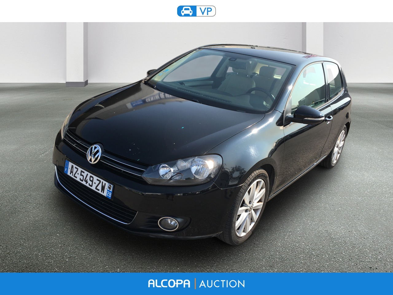 volkswagen golf golf 1 6 tdi 105 fap cr carat alcopa auction. Black Bedroom Furniture Sets. Home Design Ideas