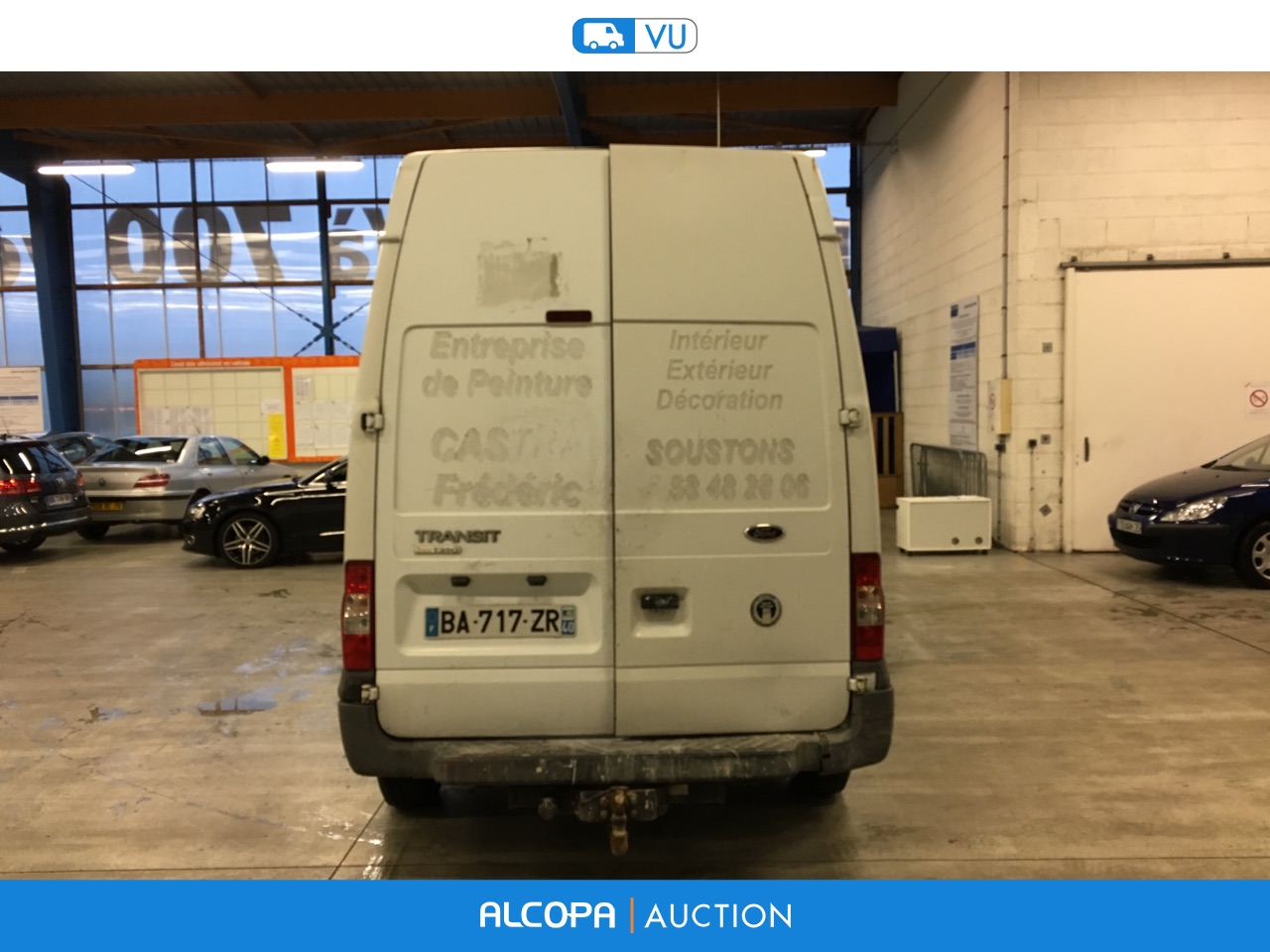 ford transit transit fg 350ms 2 2 tdci 110ch rennes alcopa auction. Black Bedroom Furniture Sets. Home Design Ideas