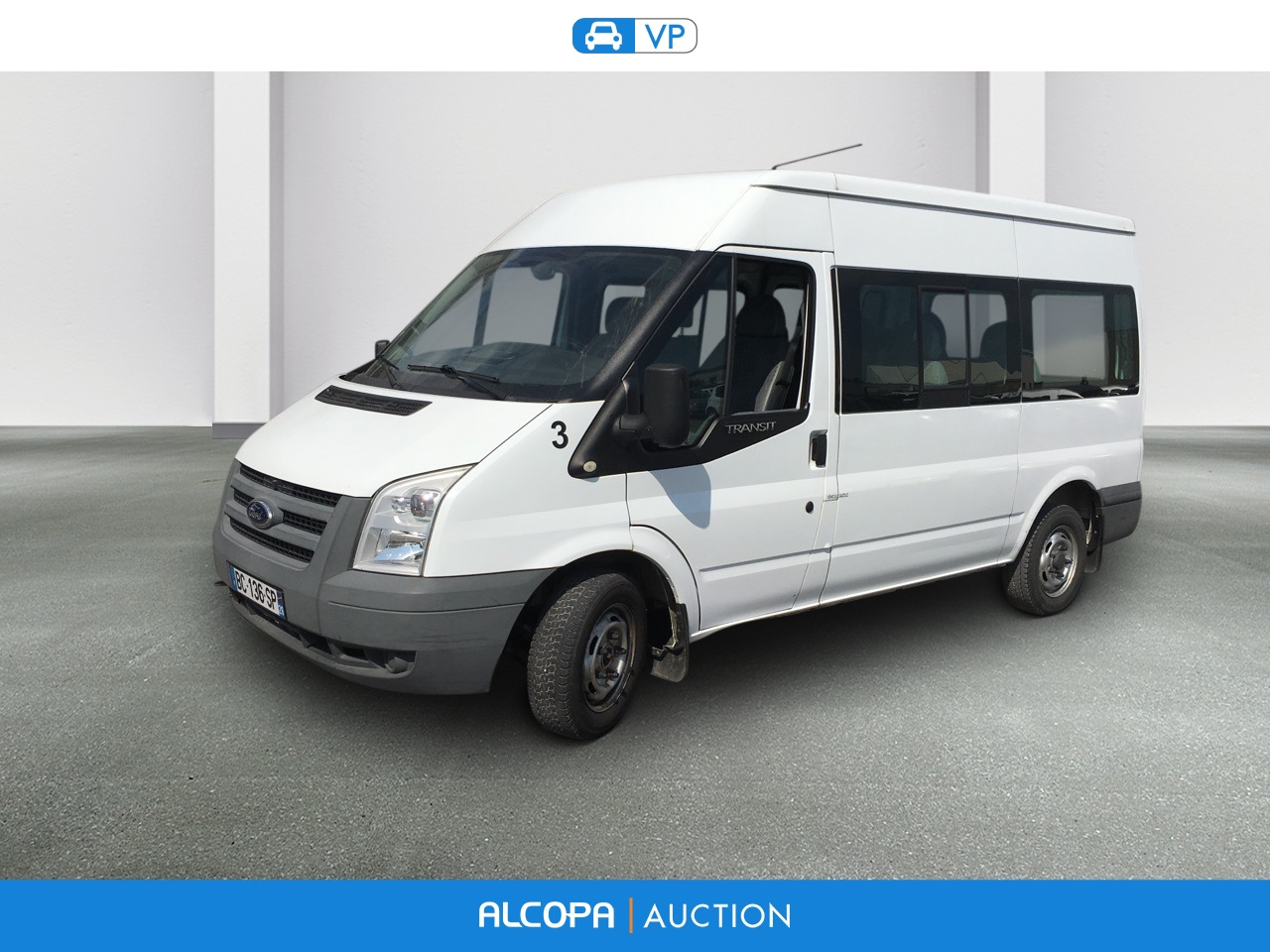 ford transit kombi transit 300 m tdci 85 alcopa auction. Black Bedroom Furniture Sets. Home Design Ideas
