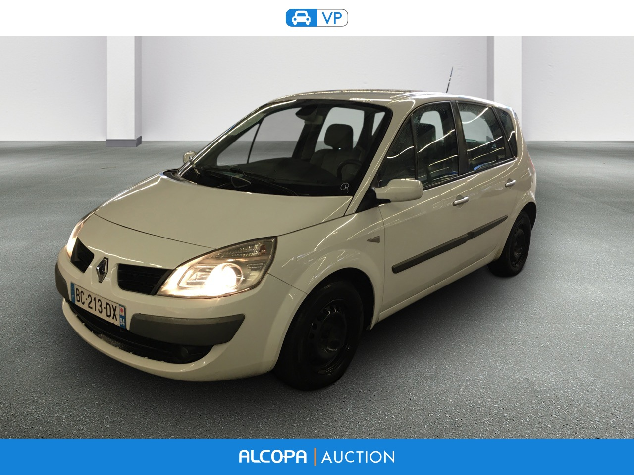 renault scenic ii scenic 1 5 dci 105 expression alcopa auction. Black Bedroom Furniture Sets. Home Design Ideas