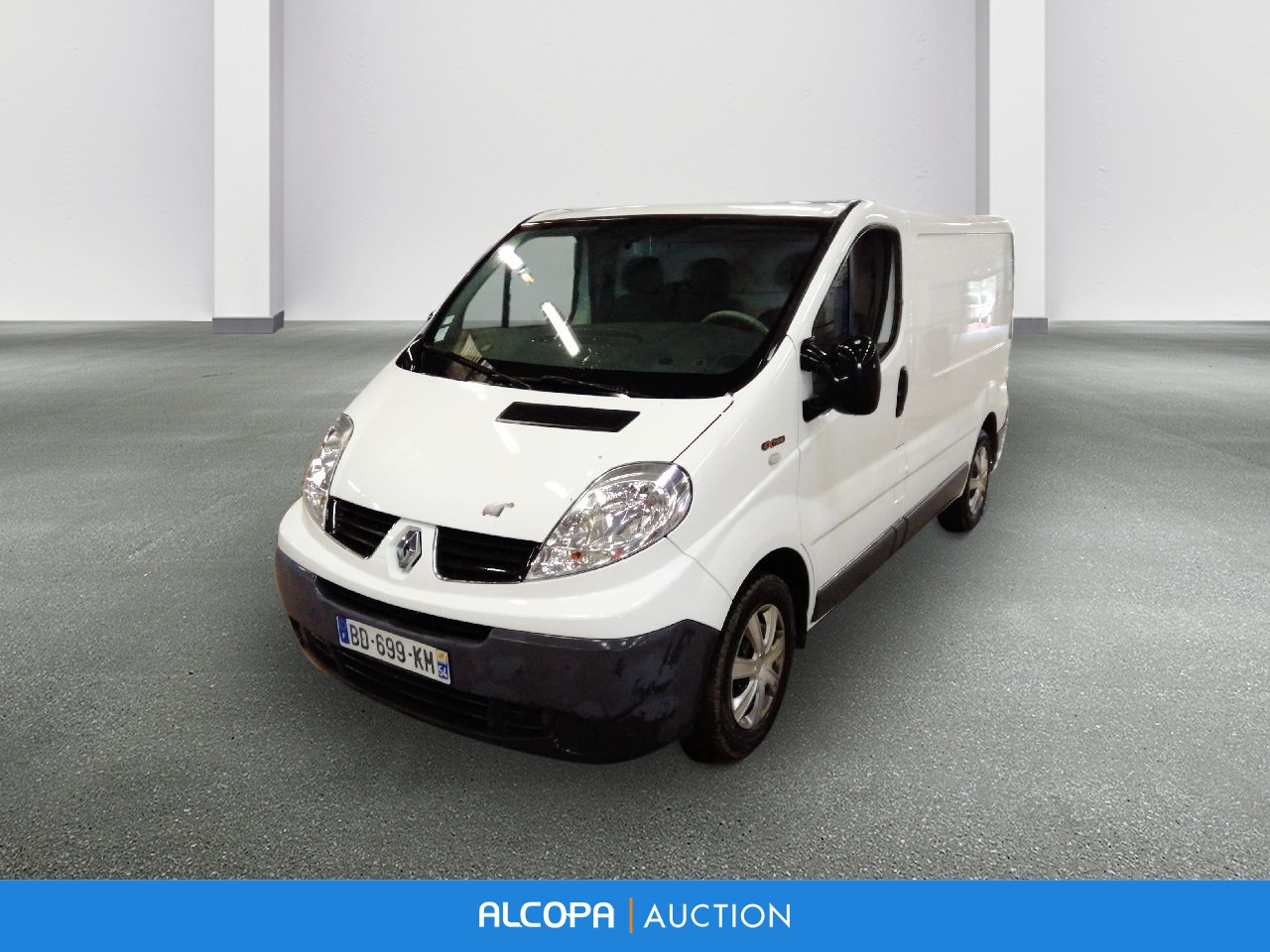 renault trafic fourgon trafic fgn 2 0 dci 90 l1h1 1000 kg serie speciale extra alcopa auction. Black Bedroom Furniture Sets. Home Design Ideas