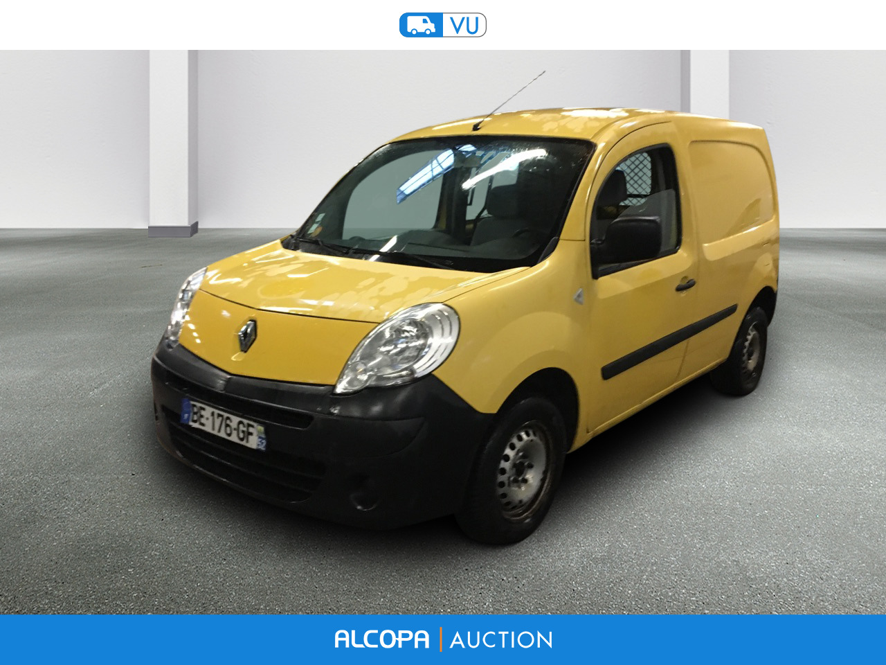 renault kangoo express 12 2007 02 2013 kangoo express l1 1 5 dci 70 alcopa auction. Black Bedroom Furniture Sets. Home Design Ideas