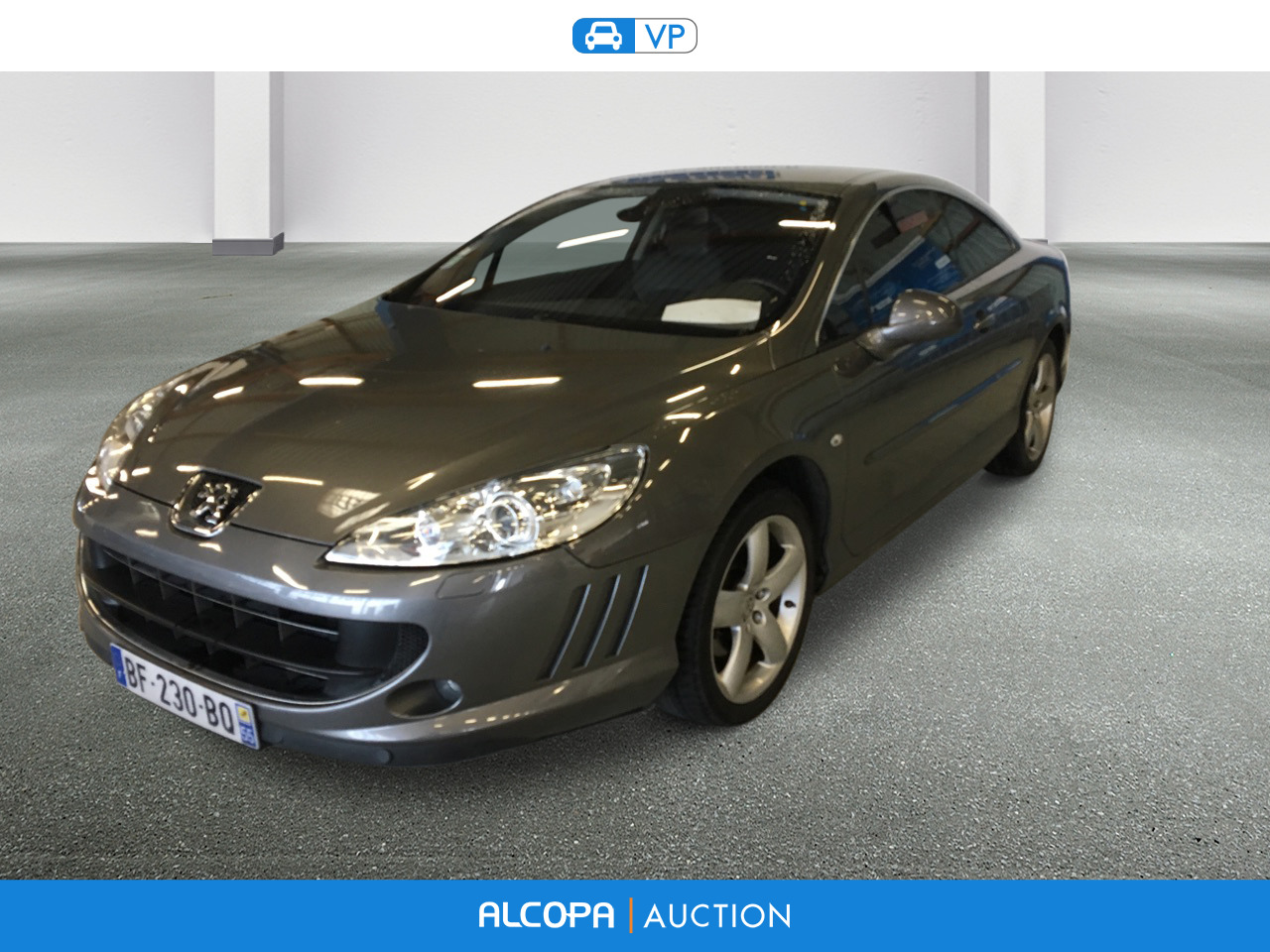 peugeot 407 407 coupe 2 0 hdi 163ch fap navteq rennes alcopa auction. Black Bedroom Furniture Sets. Home Design Ideas